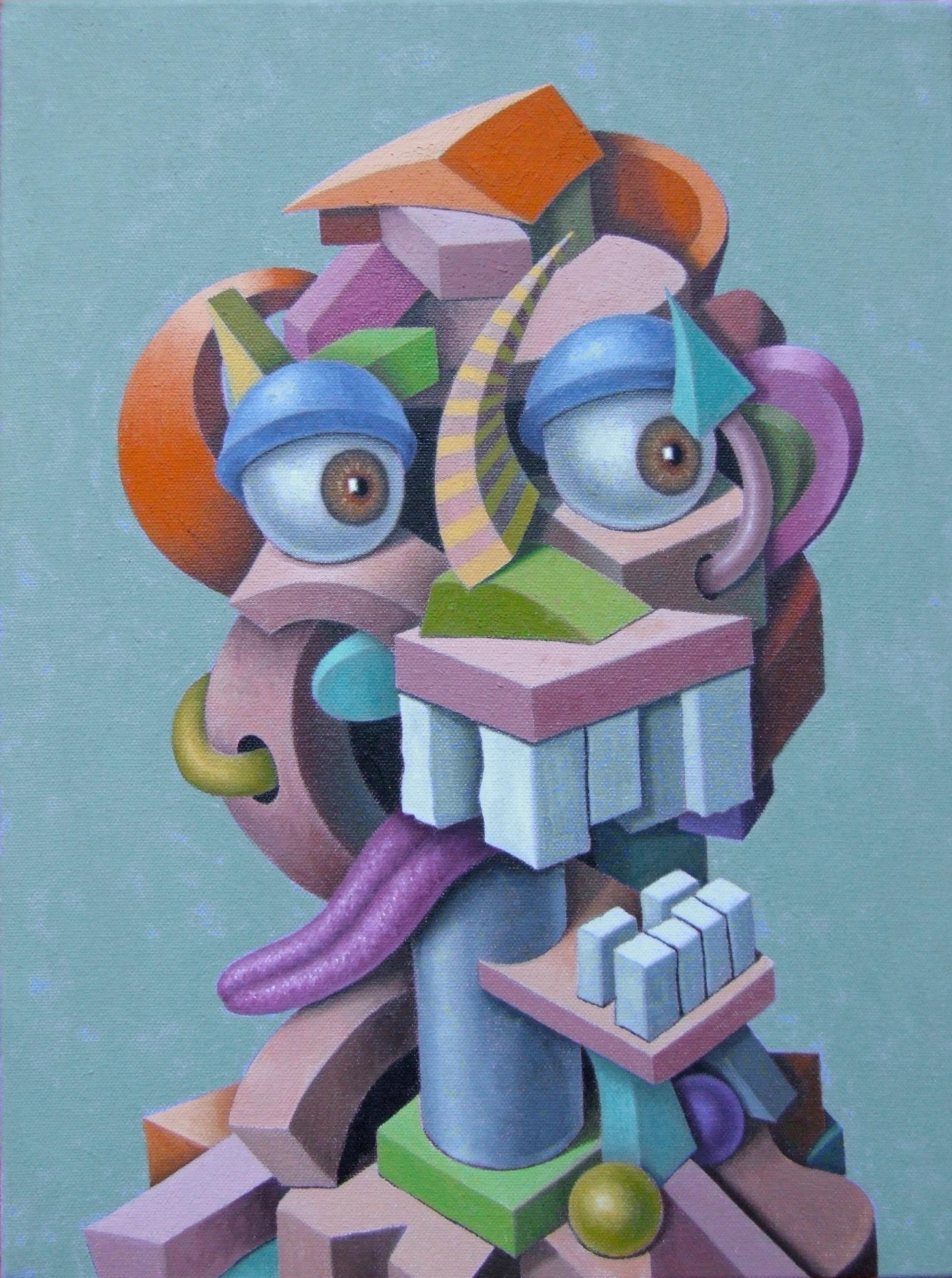 "Aw Shucks   John Borowicz   oil on canvas, 16""x12"" 2013"