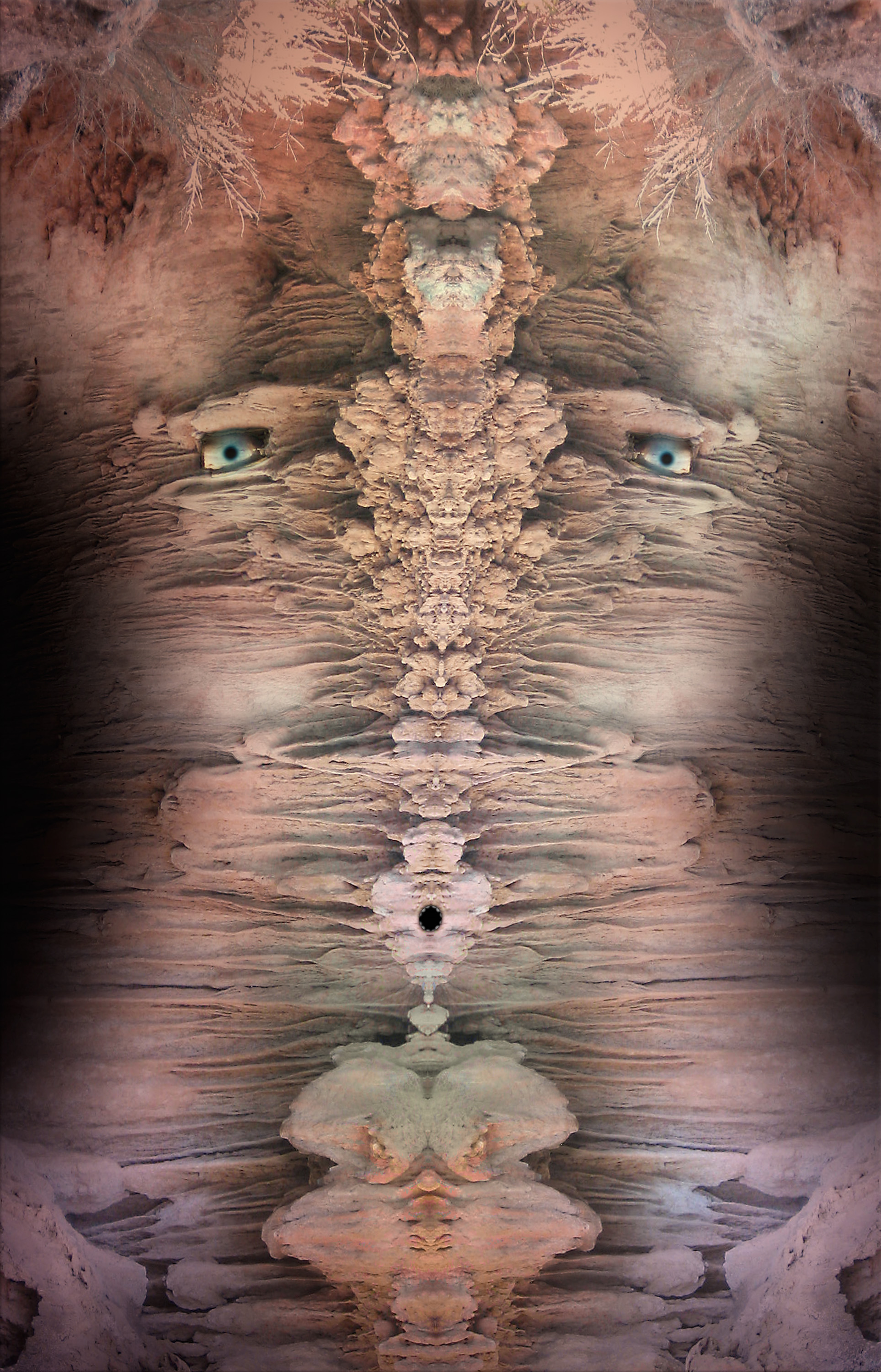 "Payson Canyon Head,   Harvey Goldman, 2014  26"" x 36"", Digital Print, 1/20"