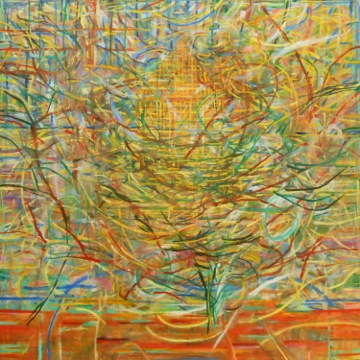 "Pierre's Nest Spring     Pat Coomey Thornton, 2014    36""x36,"" Oil on canvas"