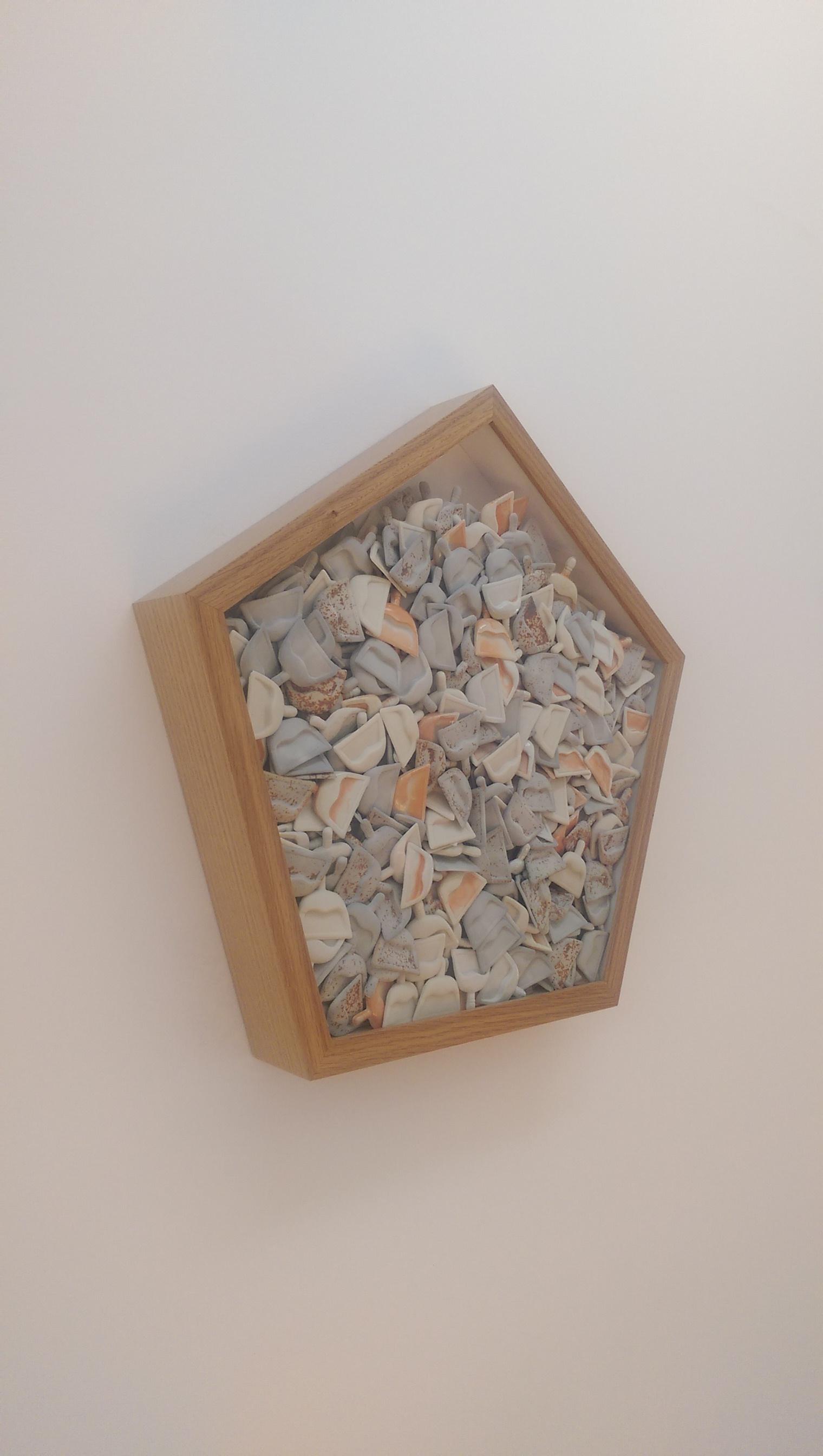 Spic n' Span 3  (detail), 2016  Porcelain  Sold