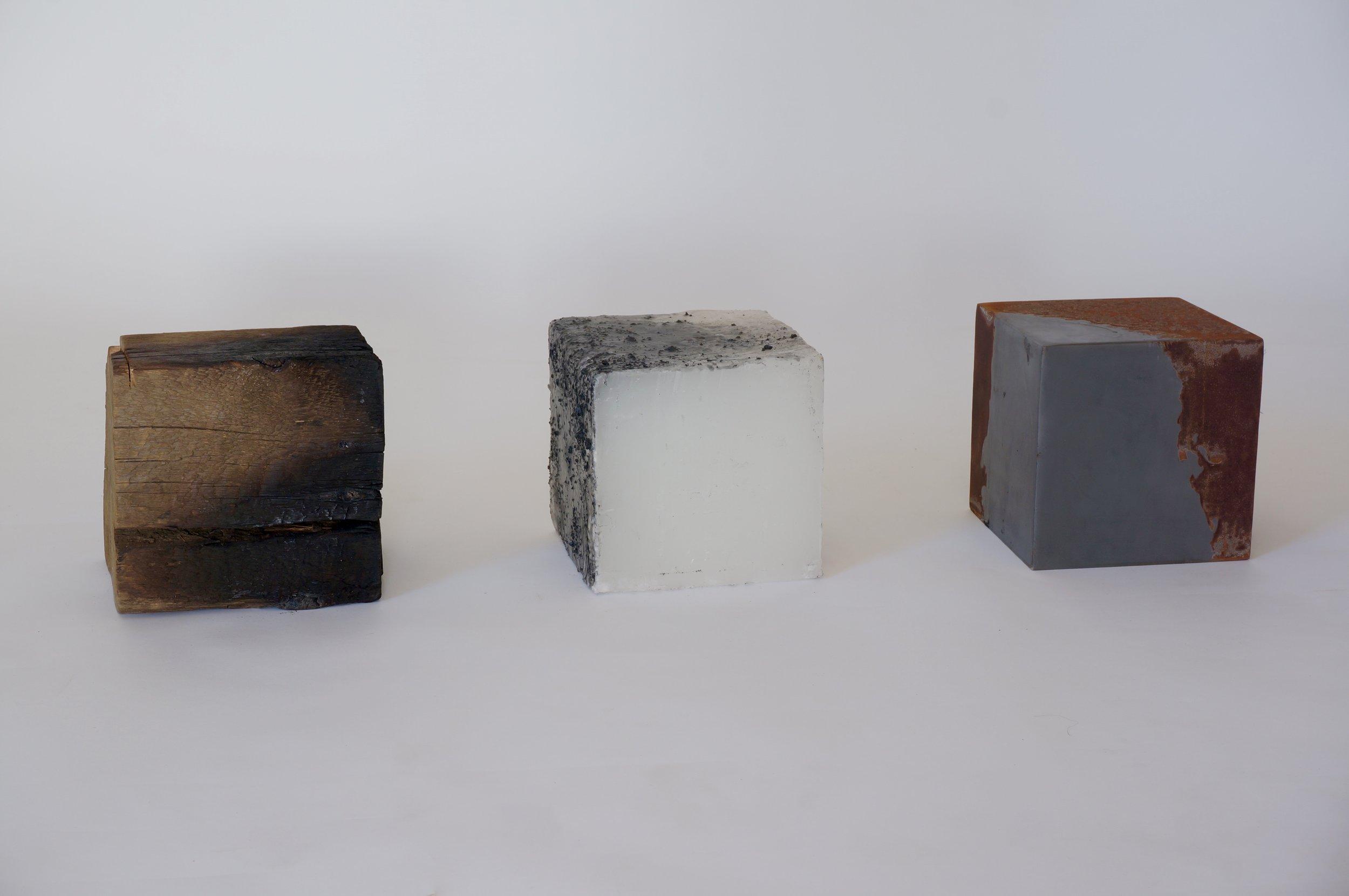 Permanence: Wood, Oil, Steel