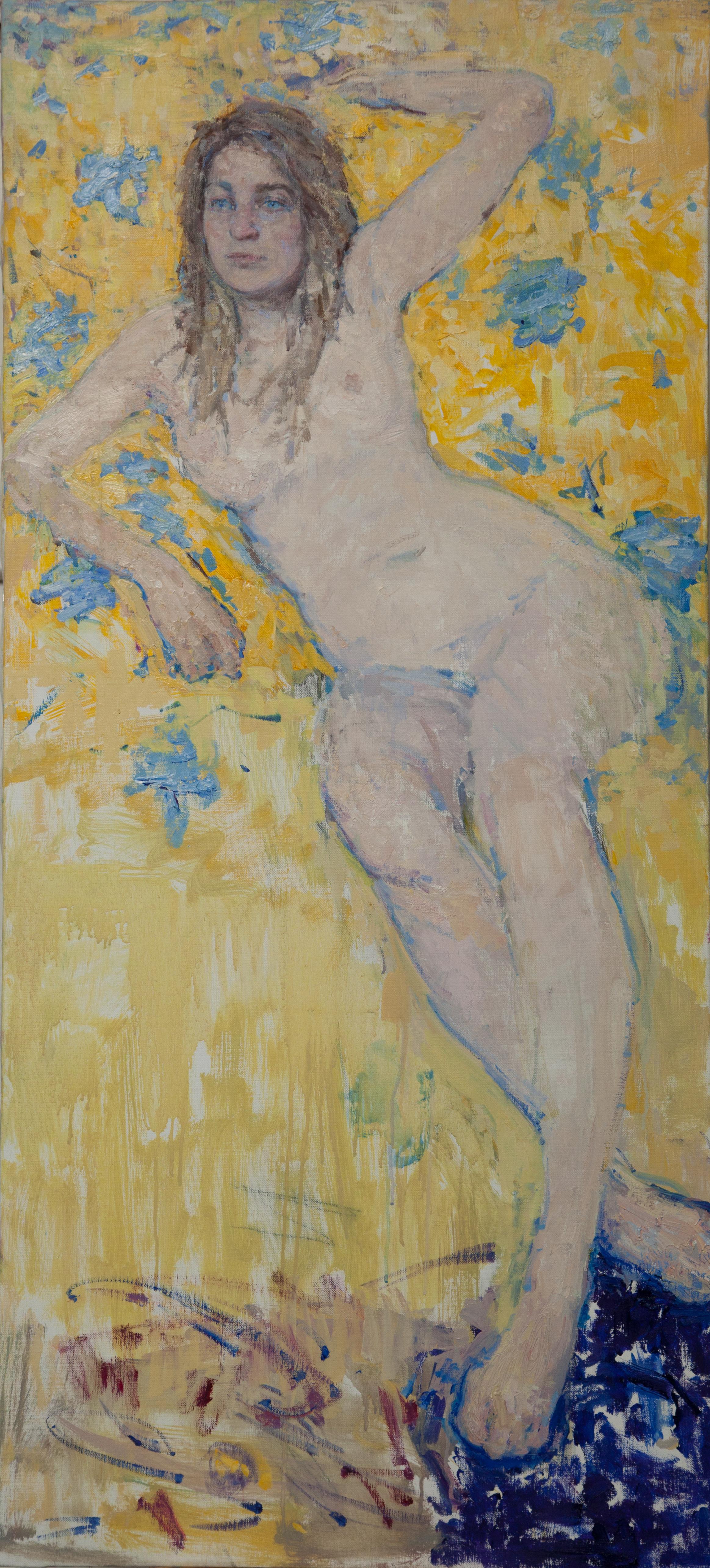 5.Freyja, oil on canvas, 122x55cm.JPG