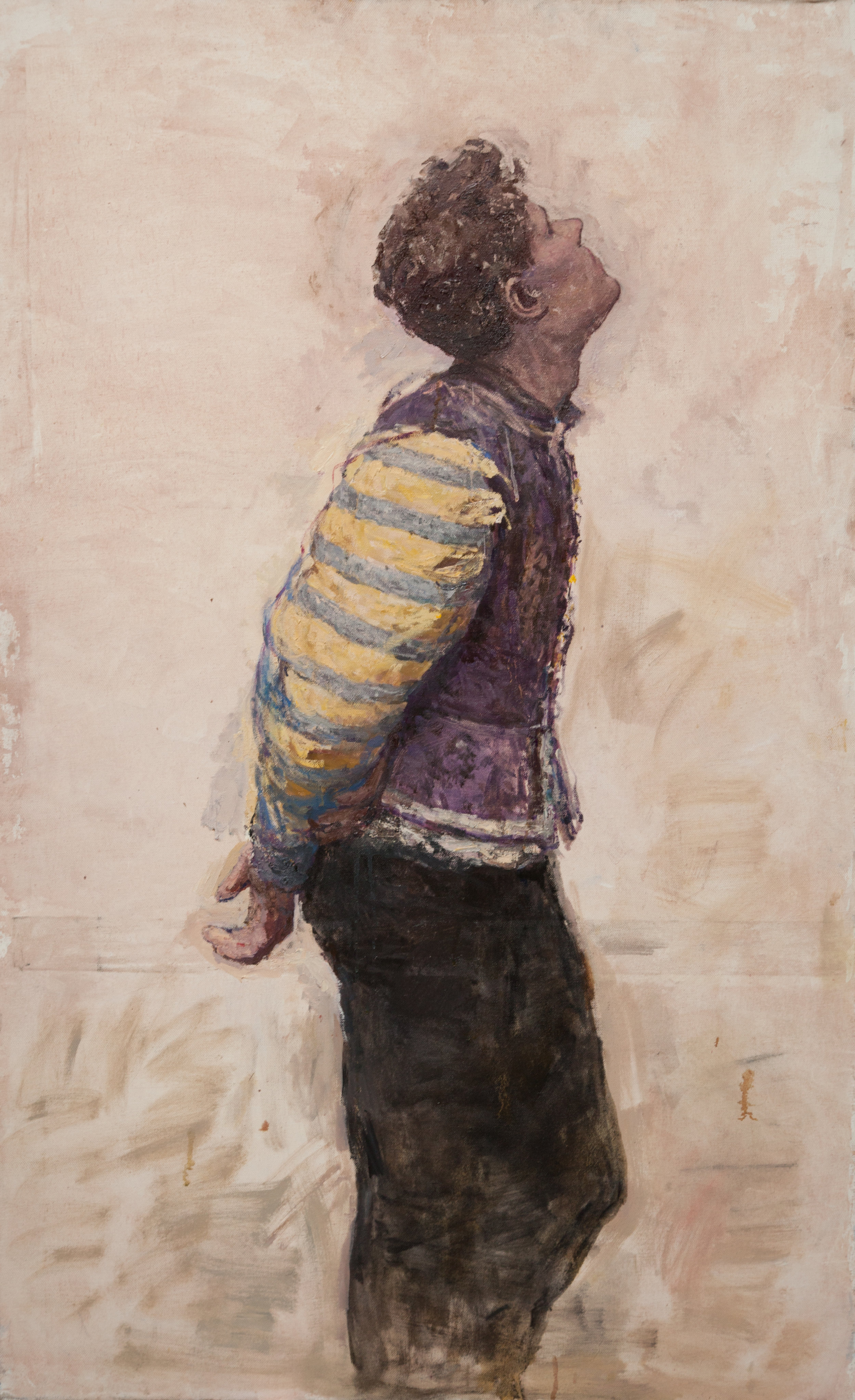 14.Florentine, oil on canvas,127x74cm.JPG