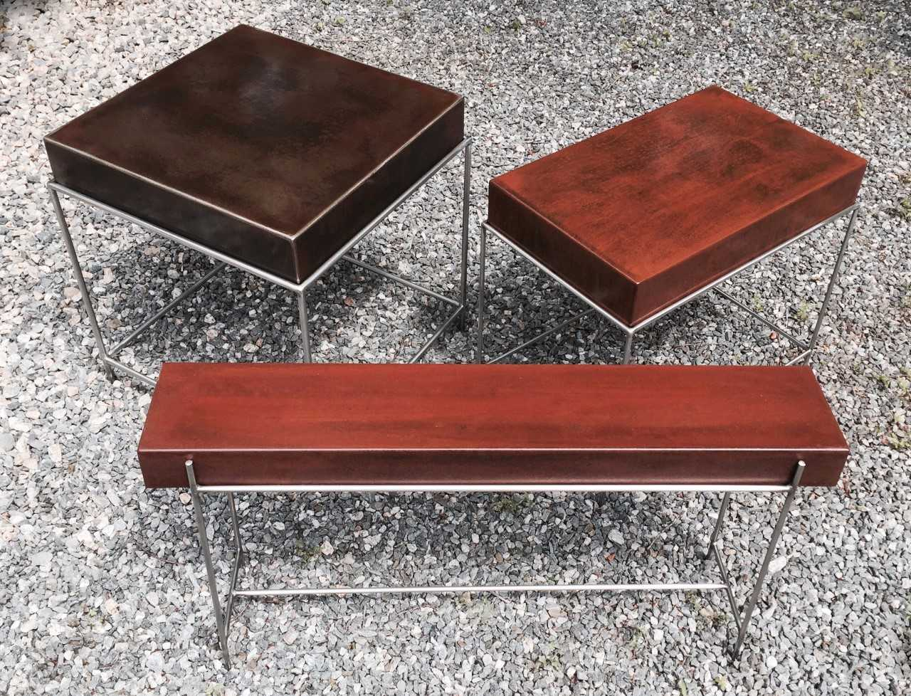 Box Top Tables