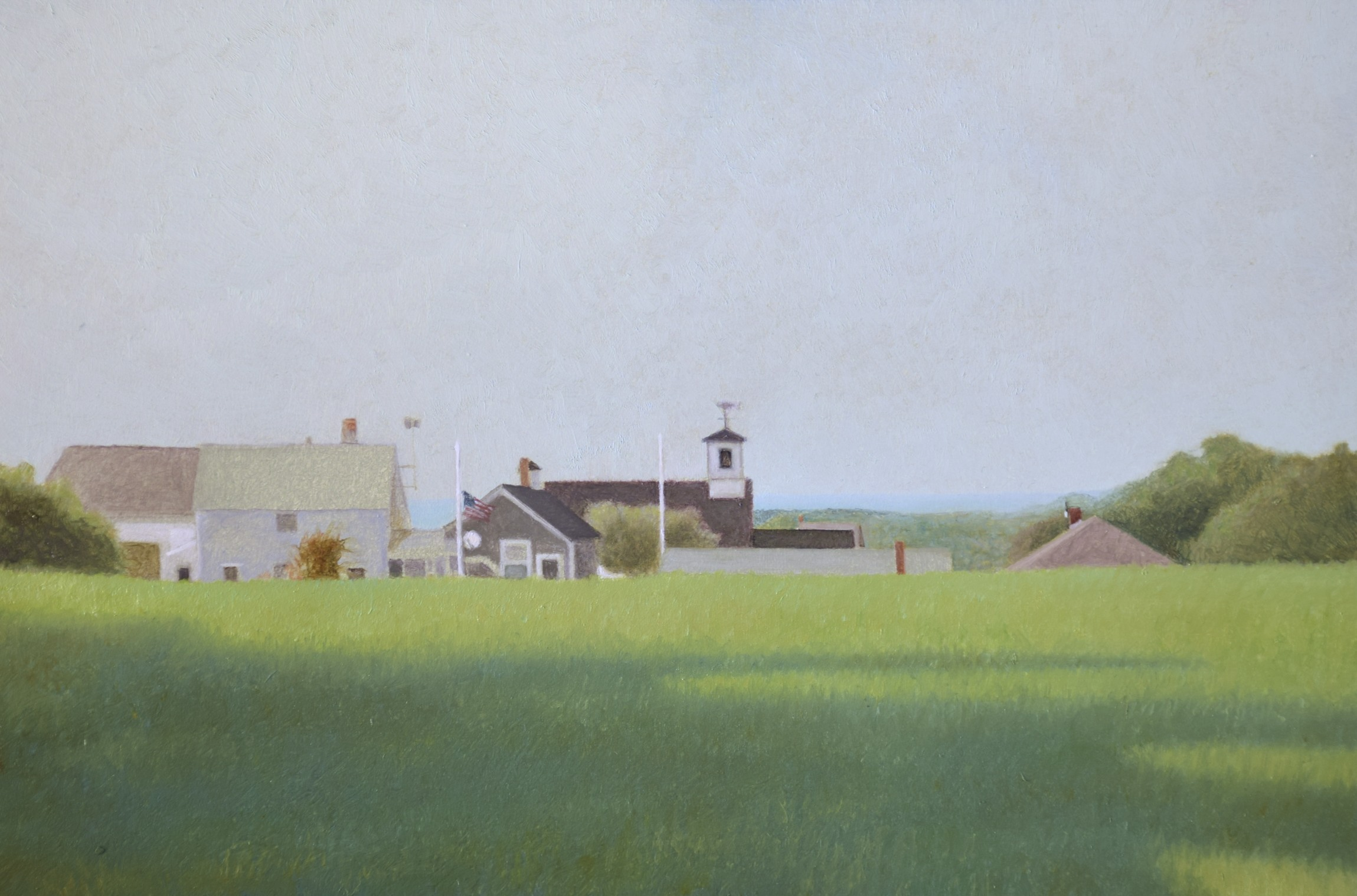 Summer Island  oil on panel  6 x 9 inches  $1,200