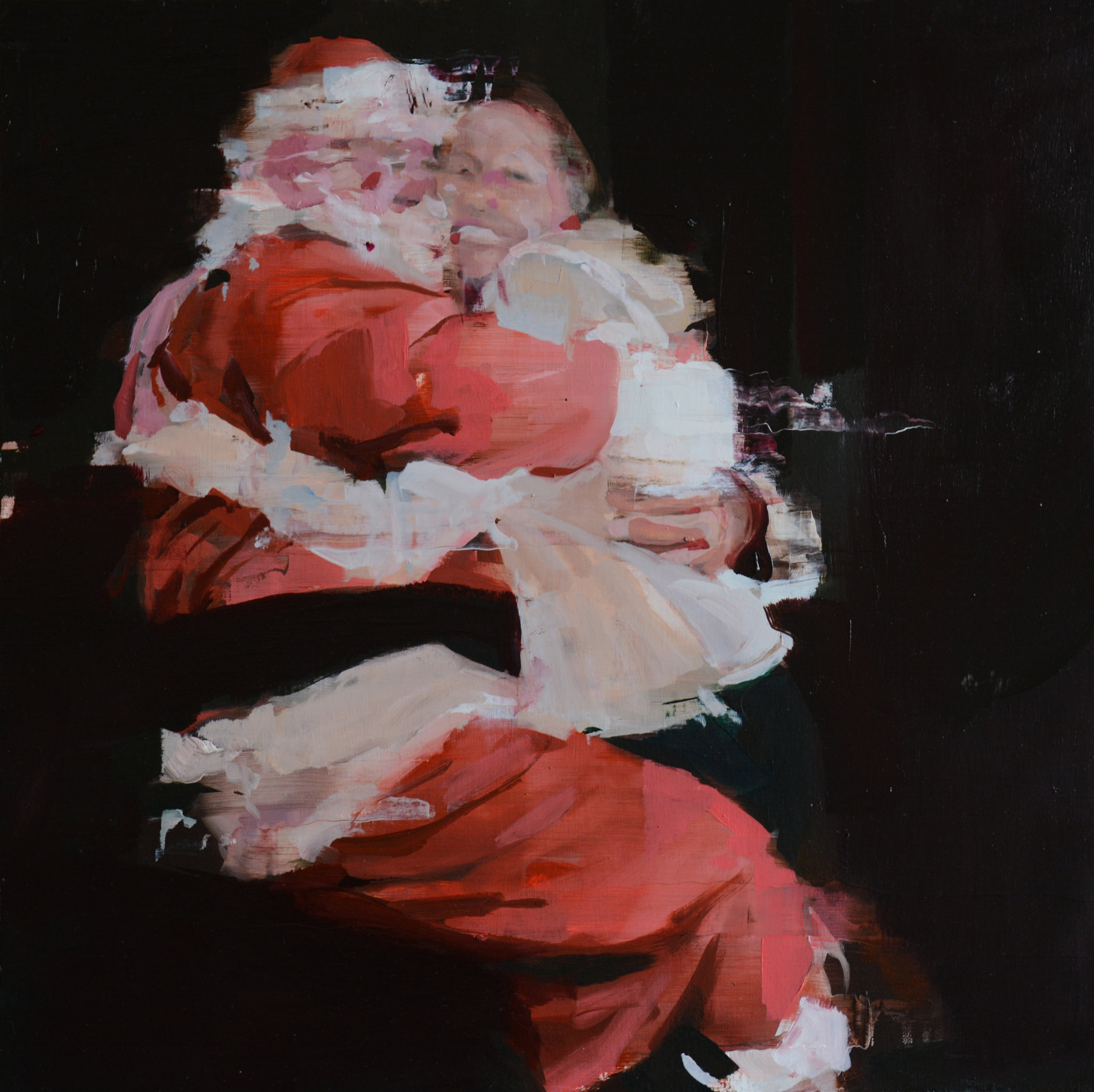 H.H. with Santa Claus,