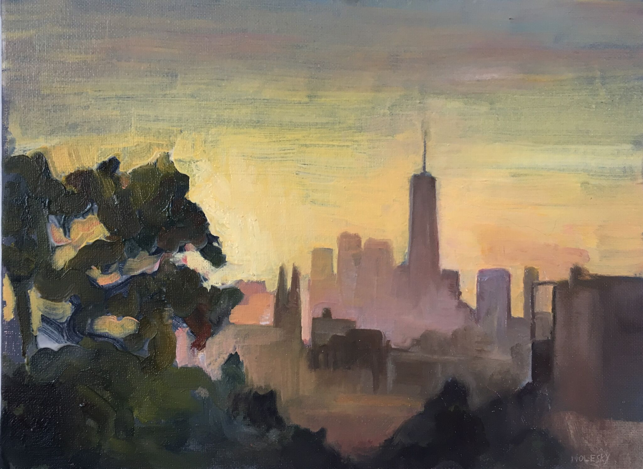 Freedom Tower from Bushwick