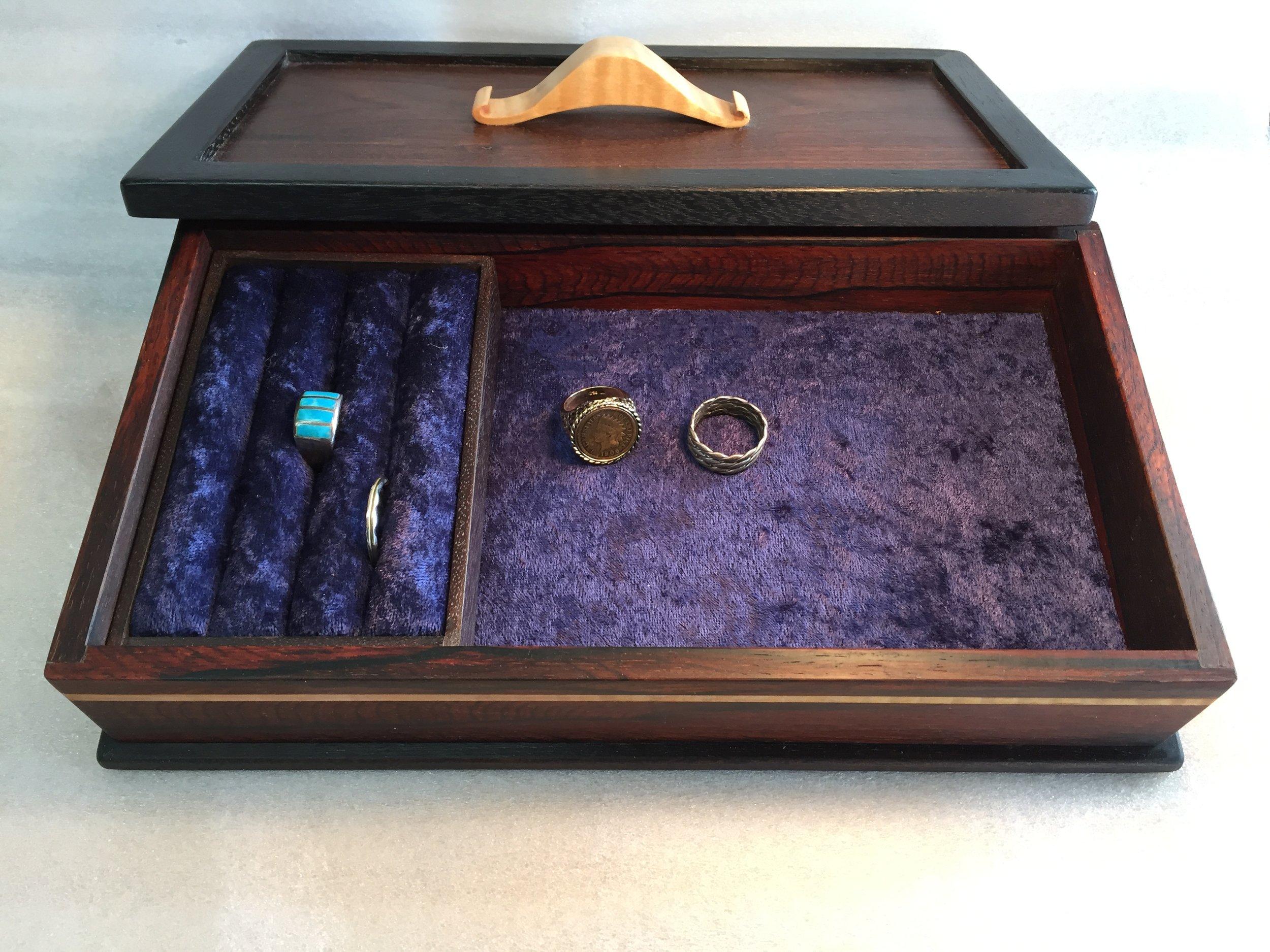 Men's Jewelry Box (inside)