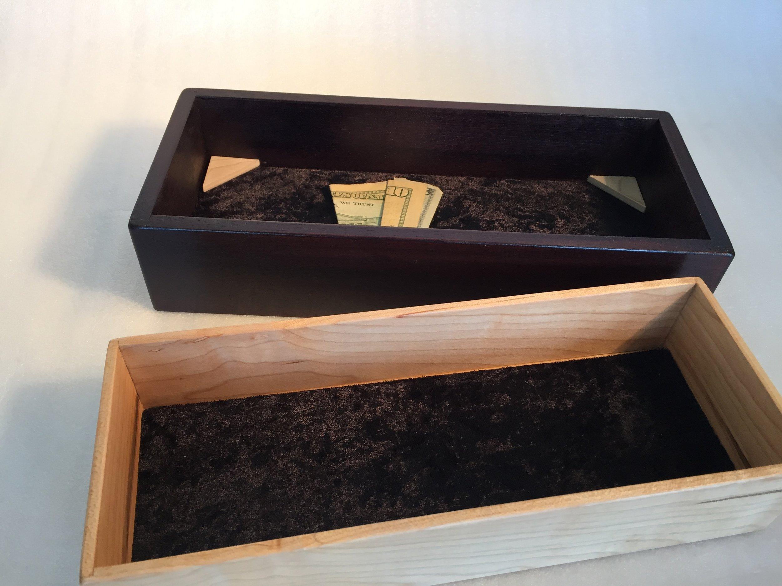 Secret Box Mahogany (secret compartment)