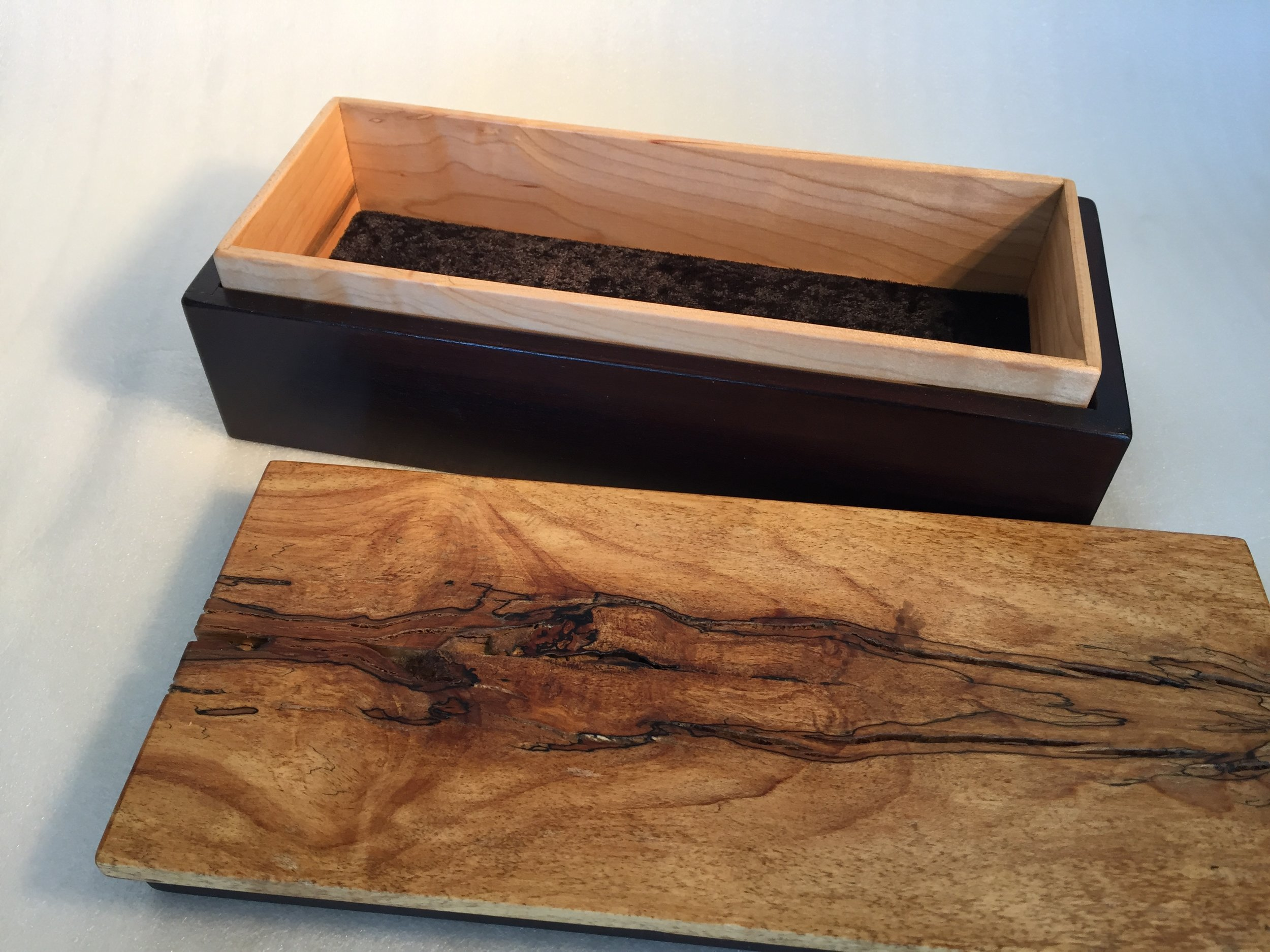 Secret Box Mahogany (open)