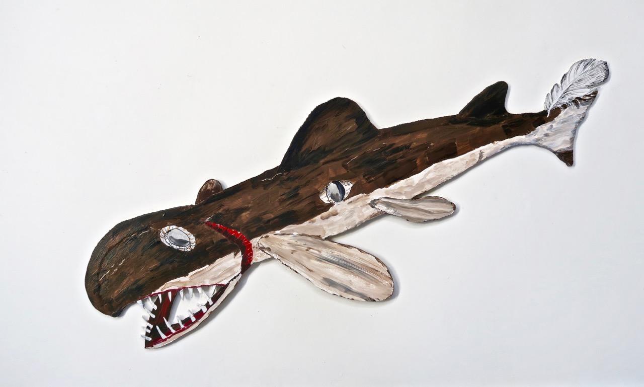 Shark Pup, Northwest Coast Indian