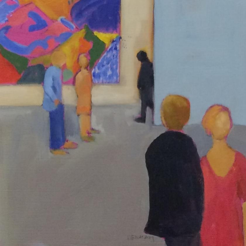 Looking at David Hockney