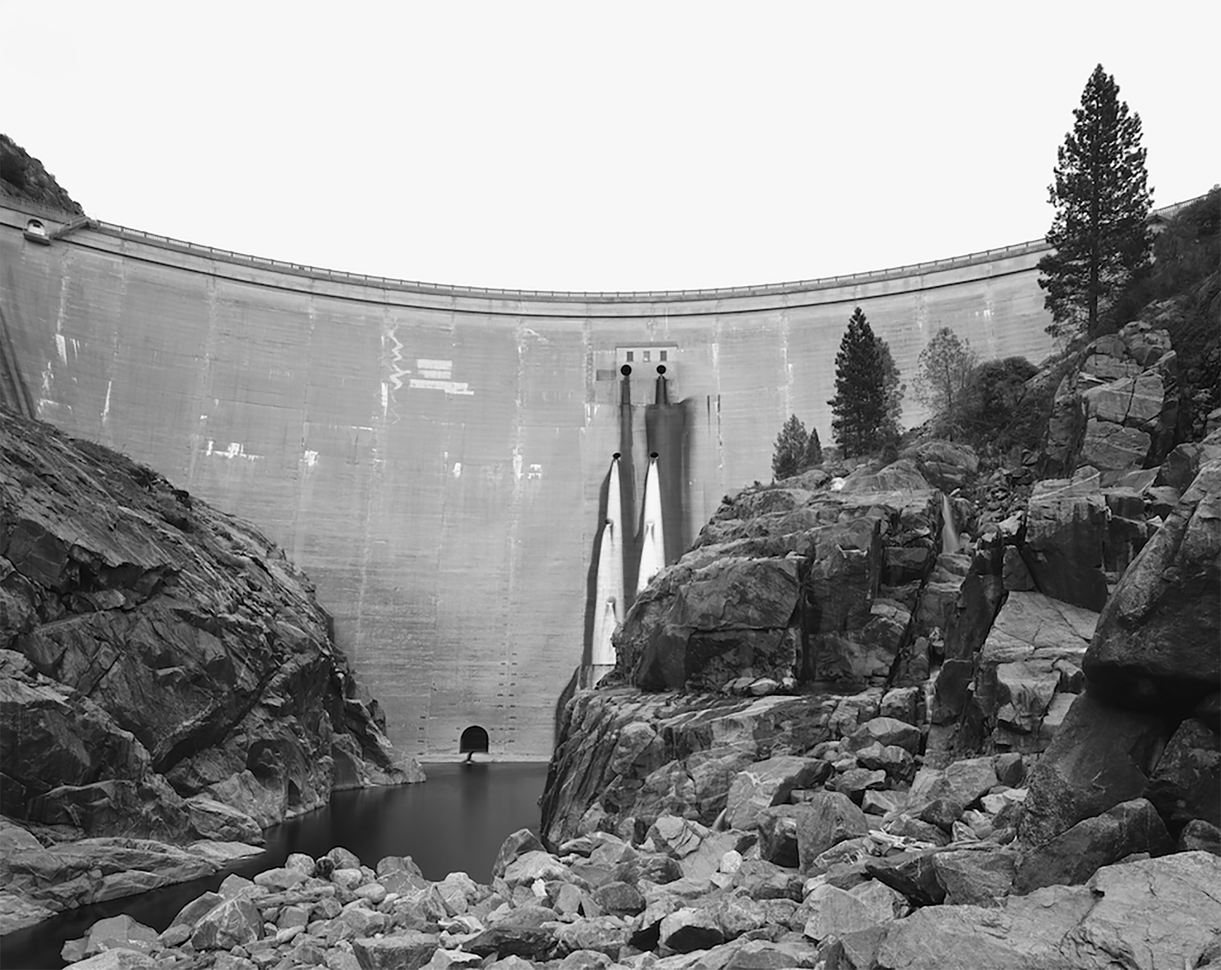 O'Shanghnessy Dam Valley view