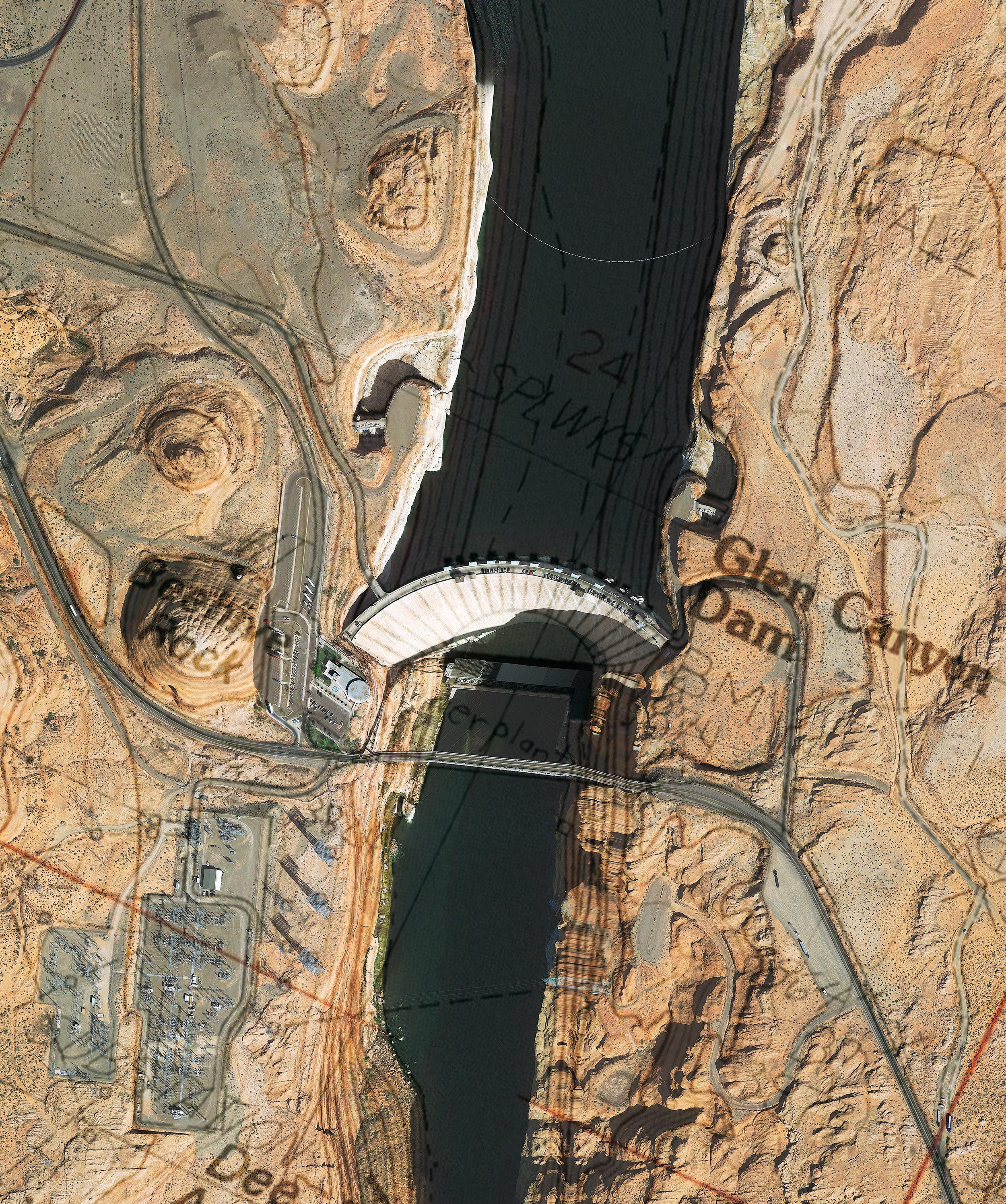 Glen Canyon Dam Satl/Topo