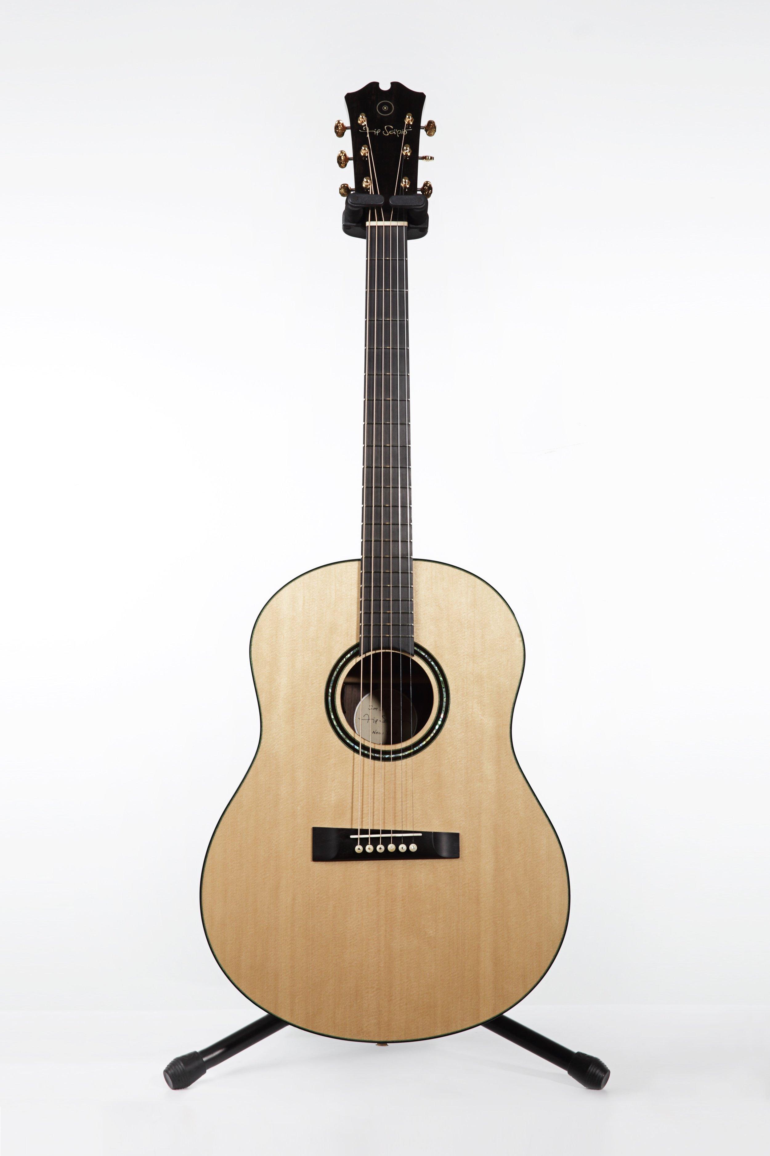 FScipio_2014 Acoustic Flattop Guitar Modeled after Michael Gurian Guitar_front.jpg