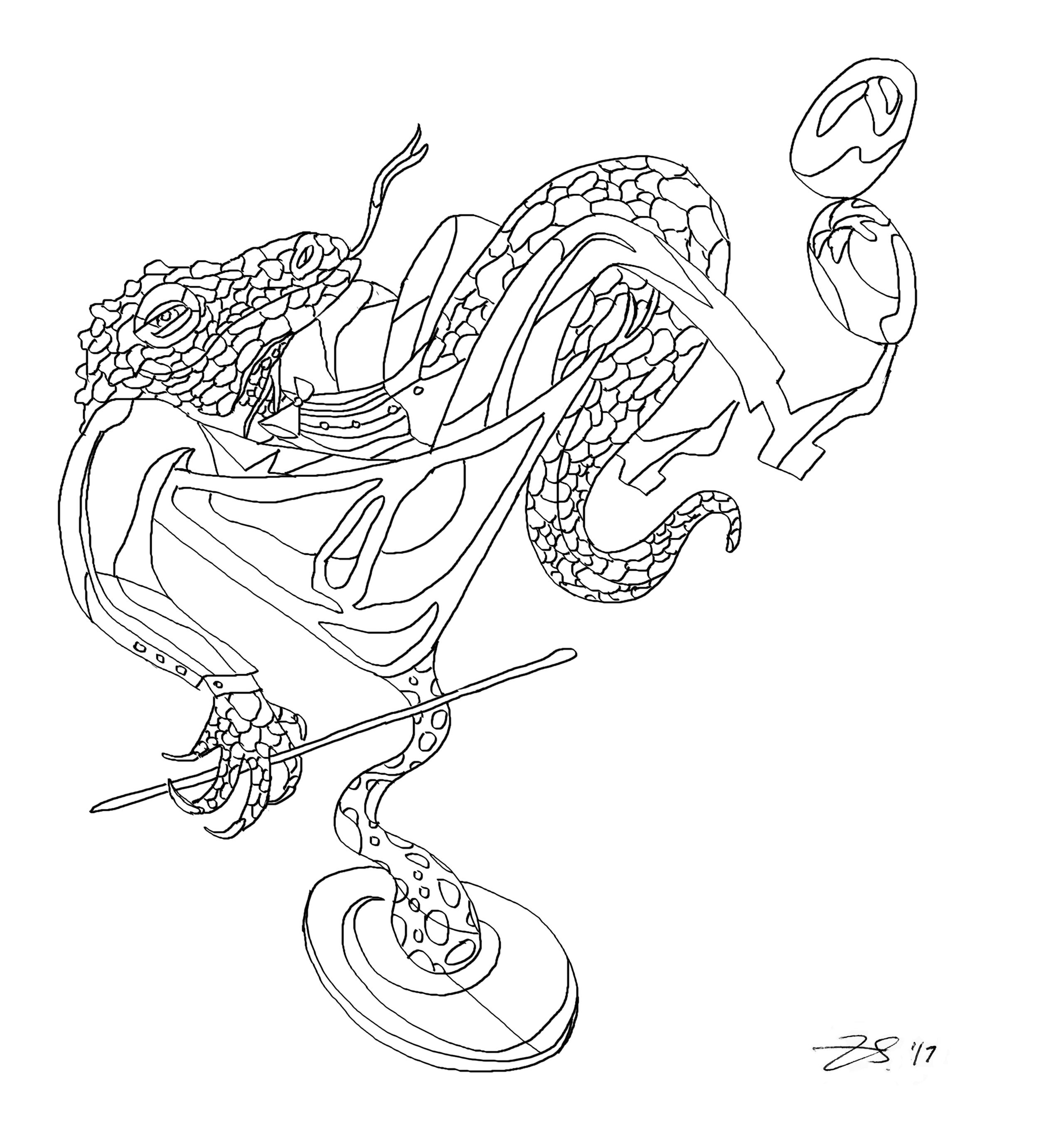 Lounge Lizard (sketch)