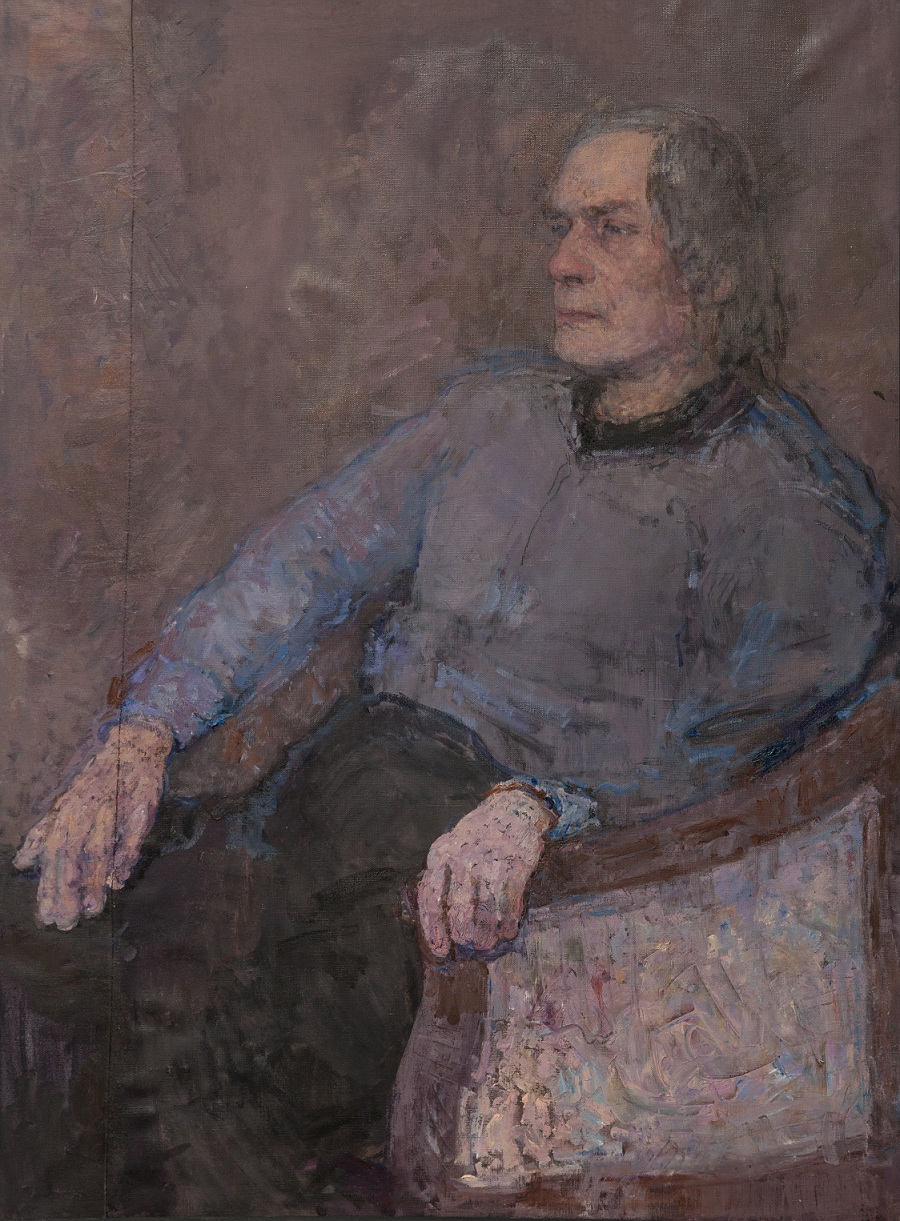 18.Composer, oil on canvas, 105x80cm.jpg