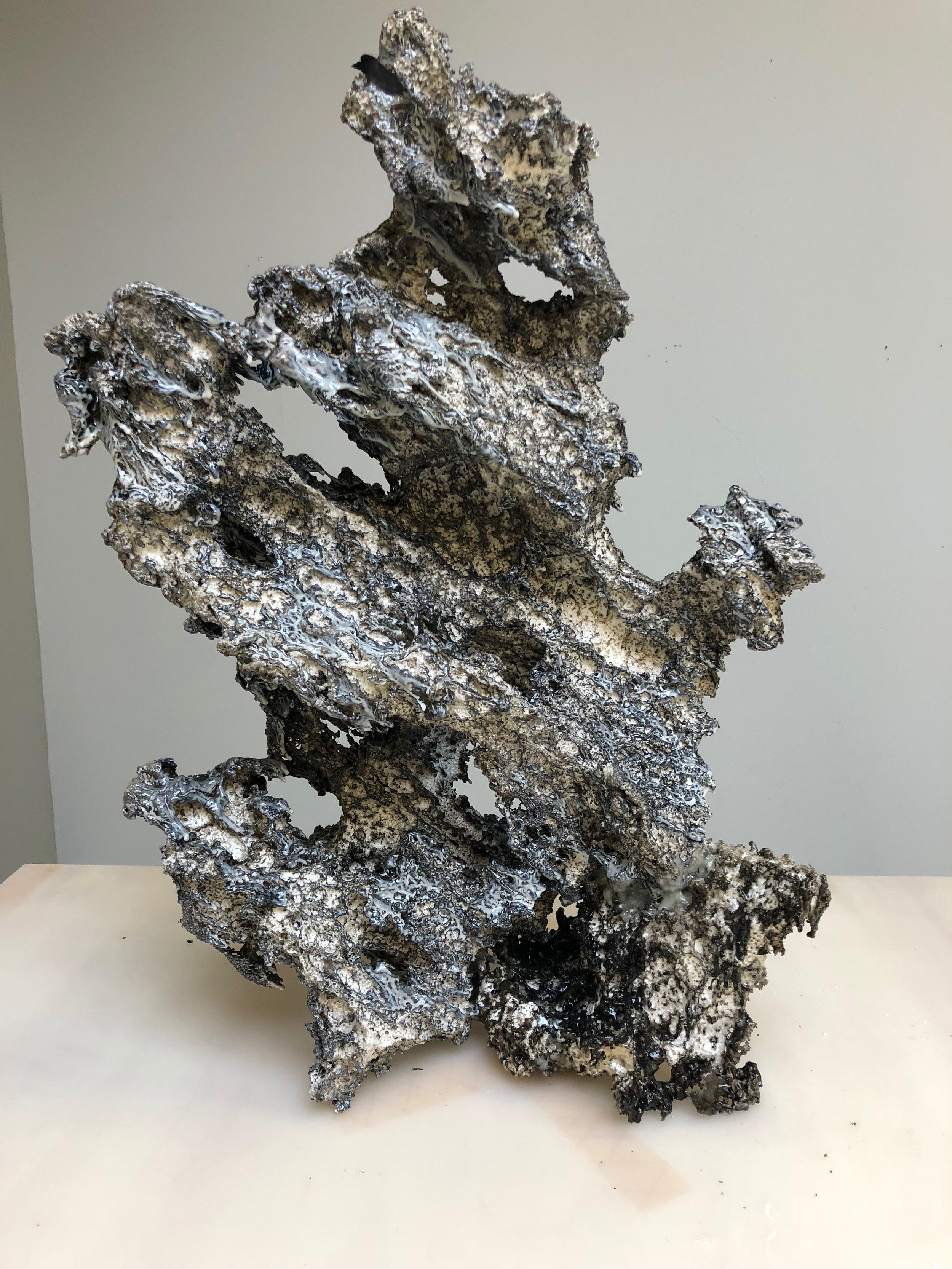 R Fishman  %22for RR%22 2018  28 1:2%22 X 20%22 x 12%22  polystyrene, epoxy.jpg