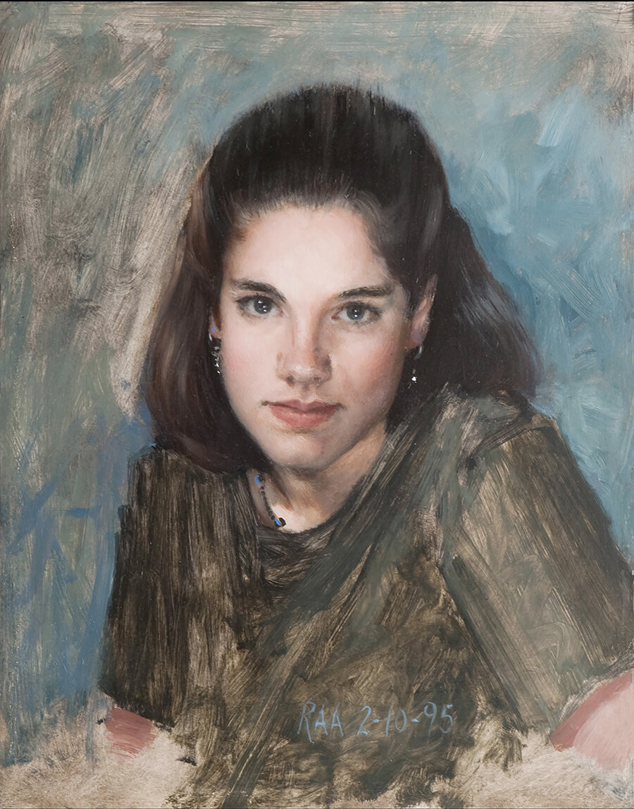 RAnderson_Portrait of the artist's daughter 1995.jpg