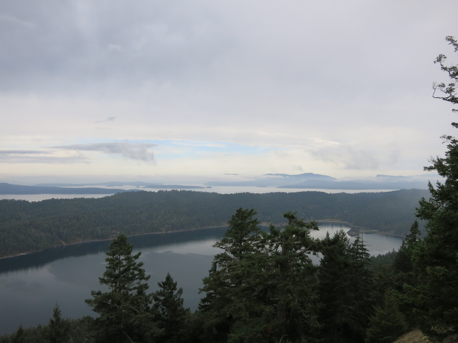 The view from Mt. Norman