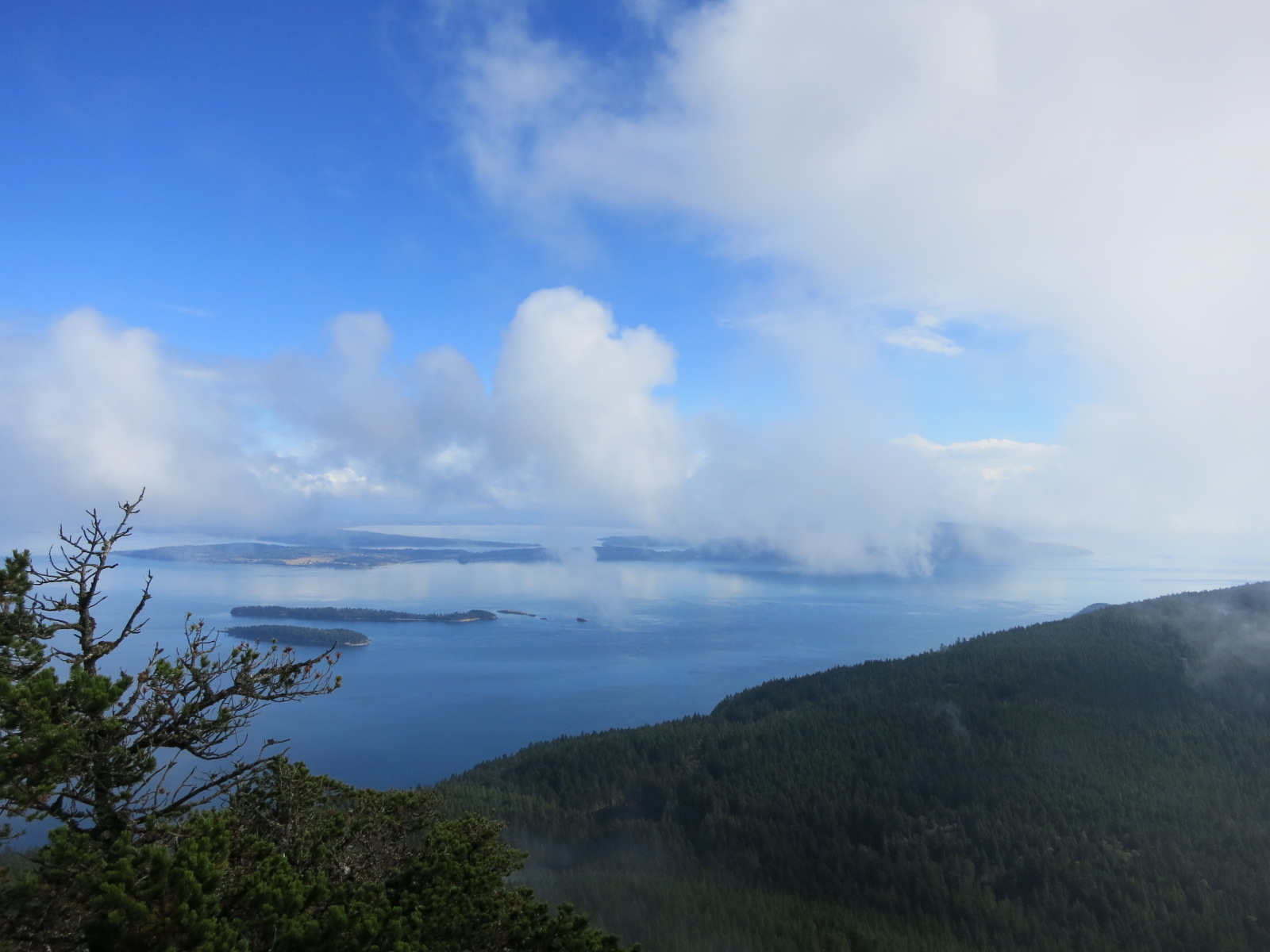 The view from Mt. Constitution