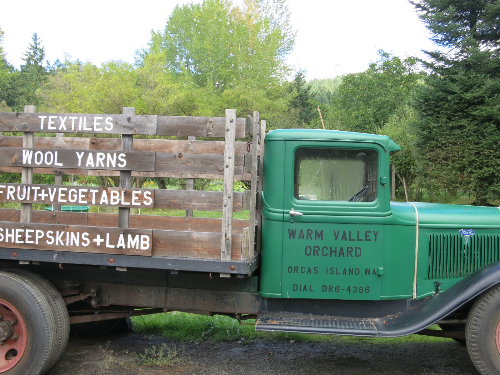 Awesome farmstand for fruit and meat