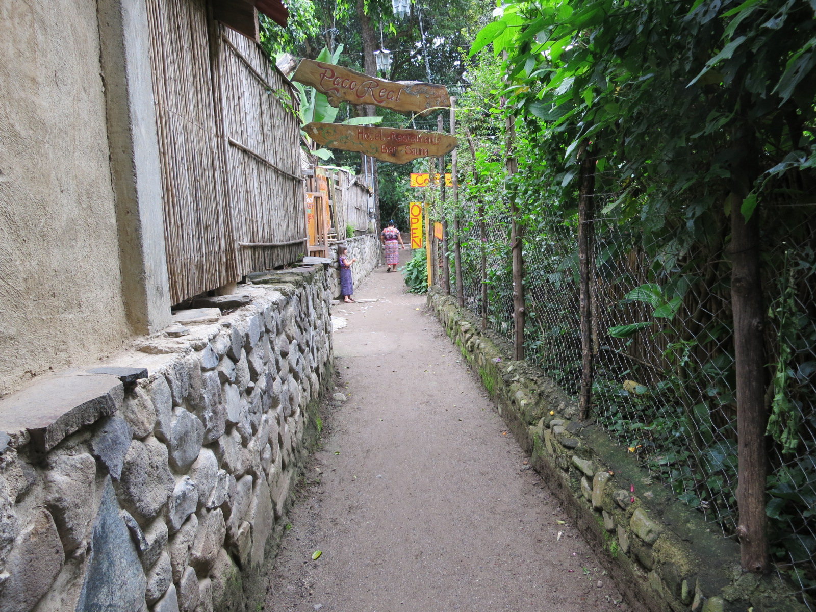 One of the small paths