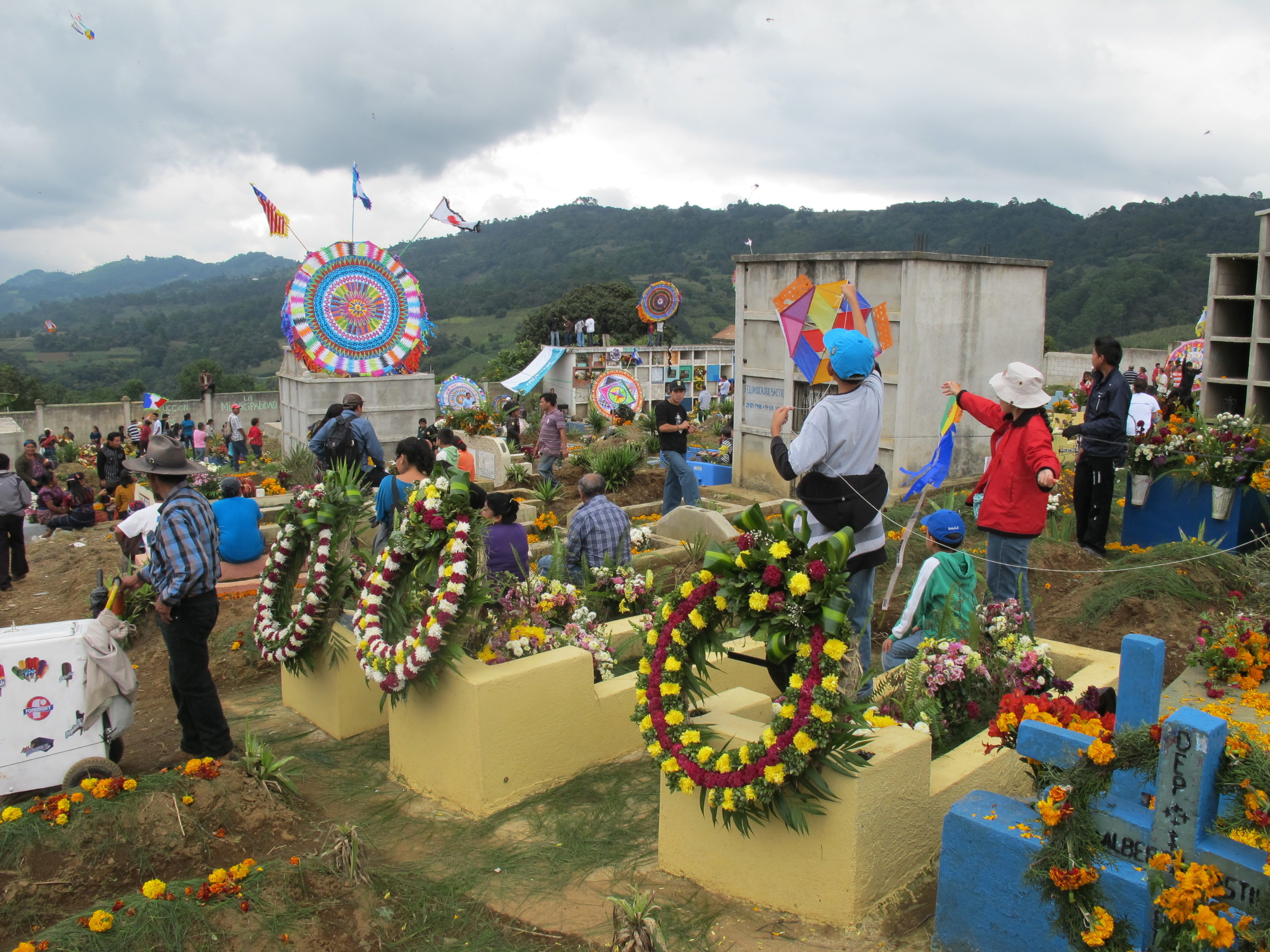 Other decorated graves