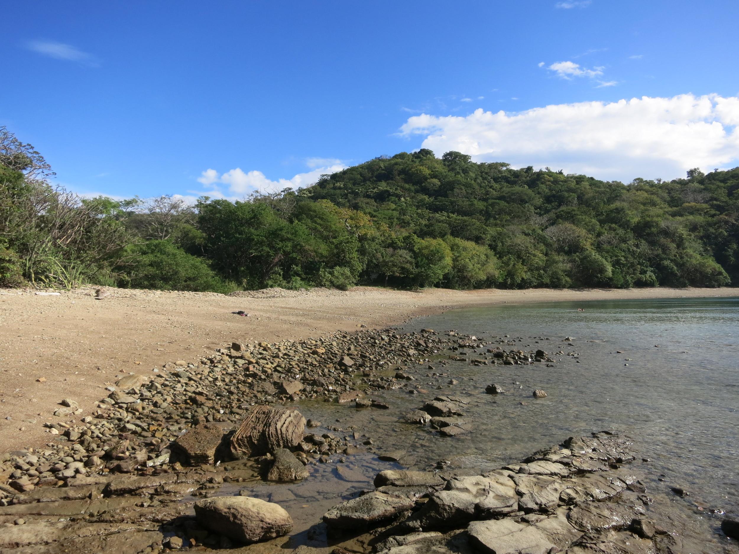 Our own beach!