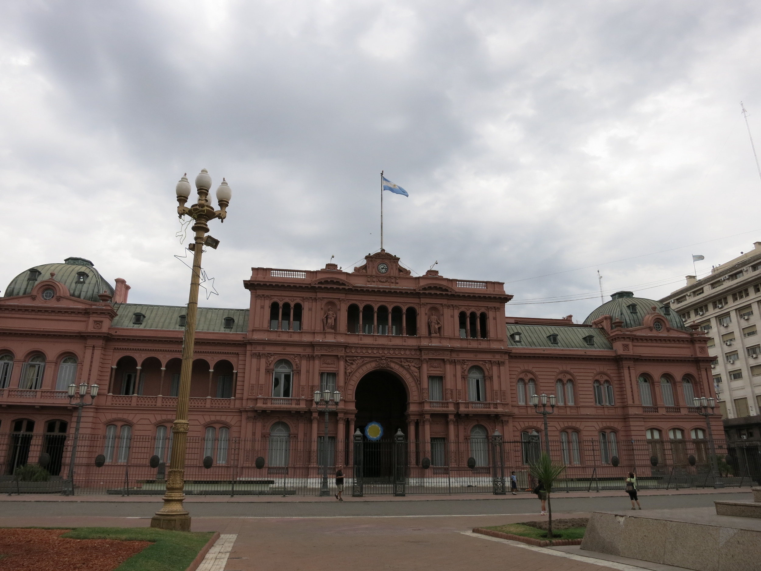 The Pink House - the Presidential Offices