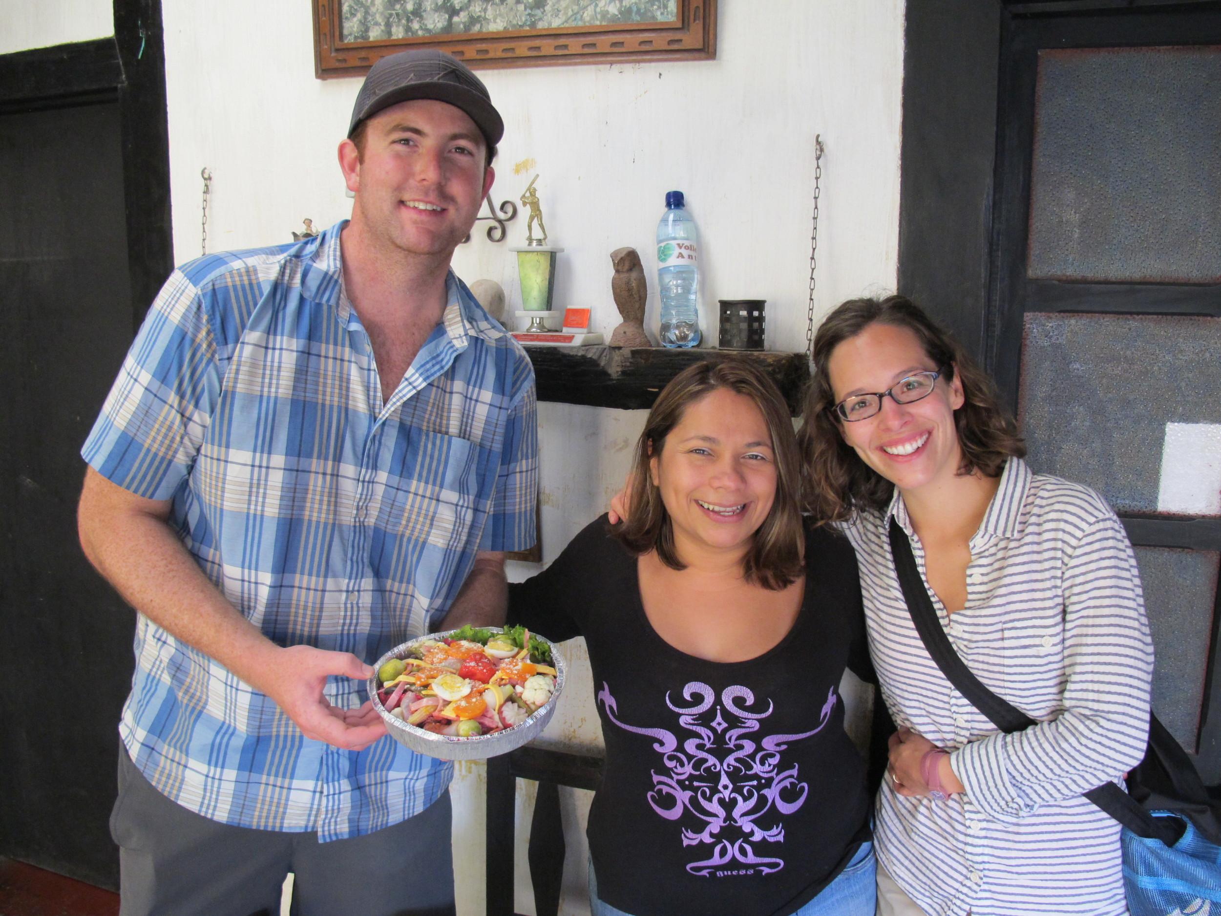 Our friend Carolina, Antigua, Guatemala