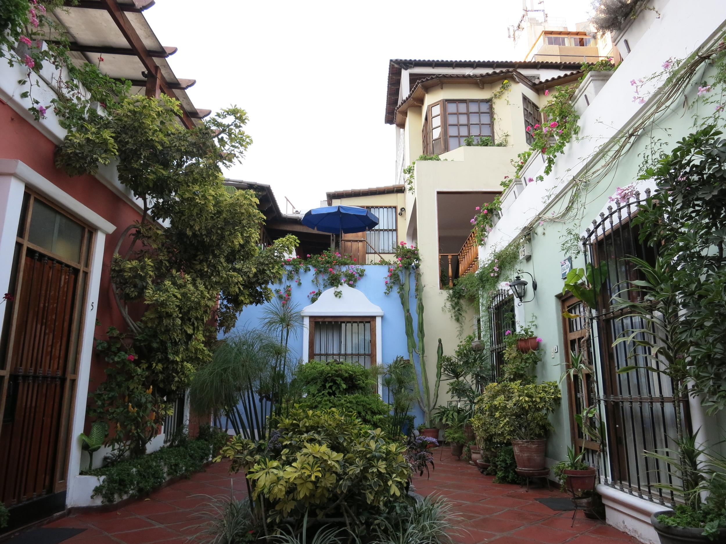 Our charming Hotel el Patio garden