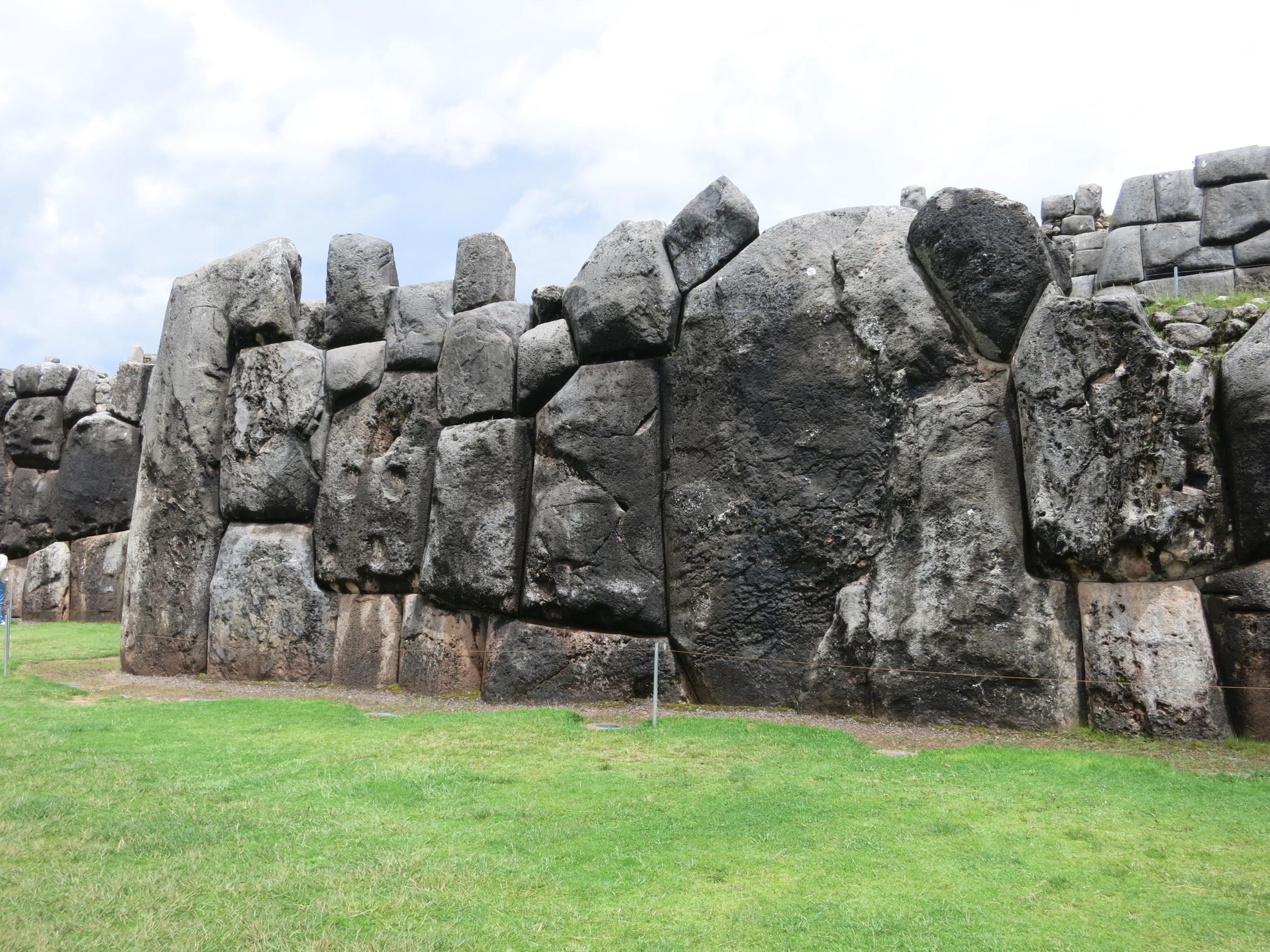 Some HUGE rocks at Saqsaywaman