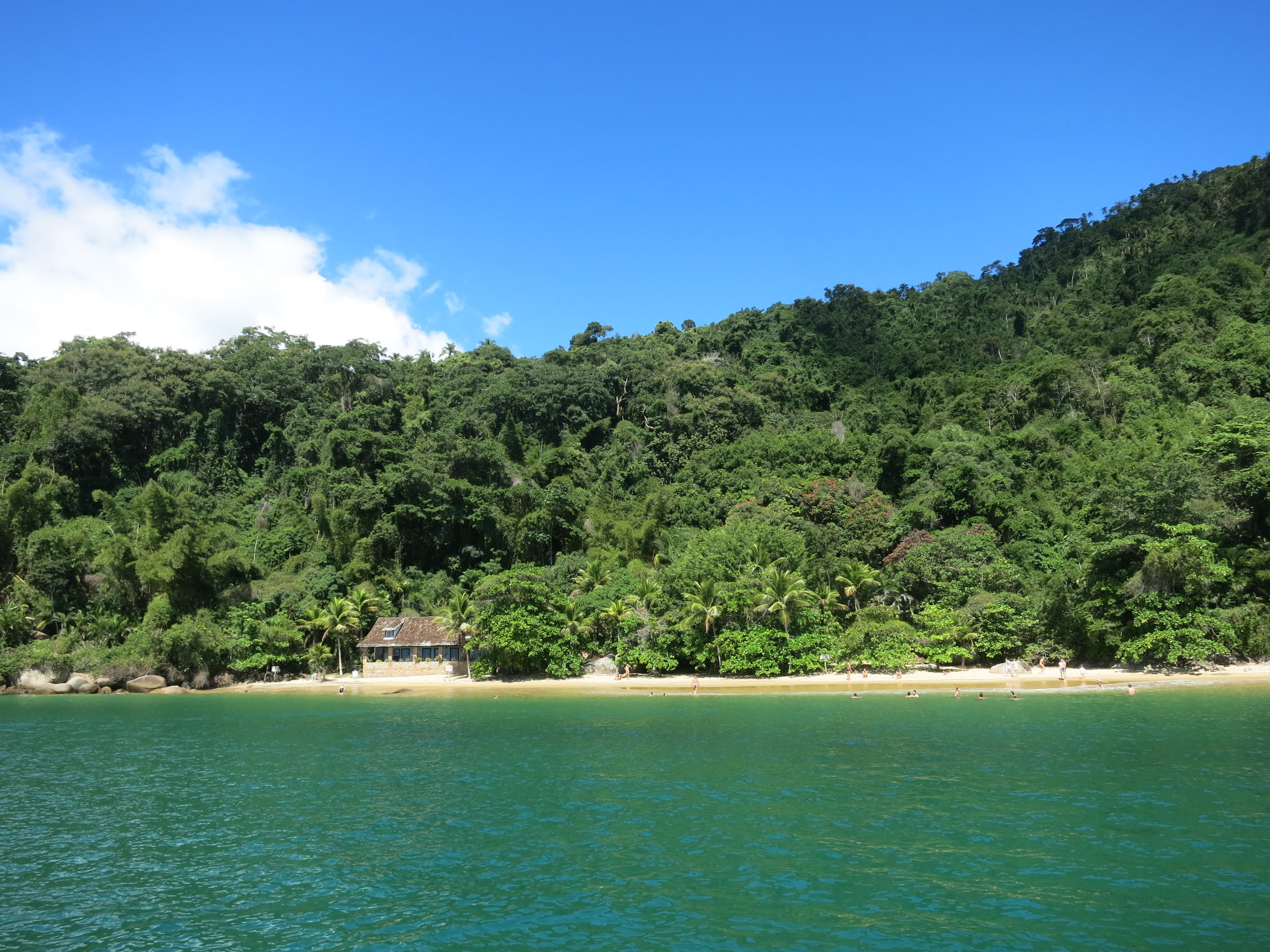 Our first beach - Lula