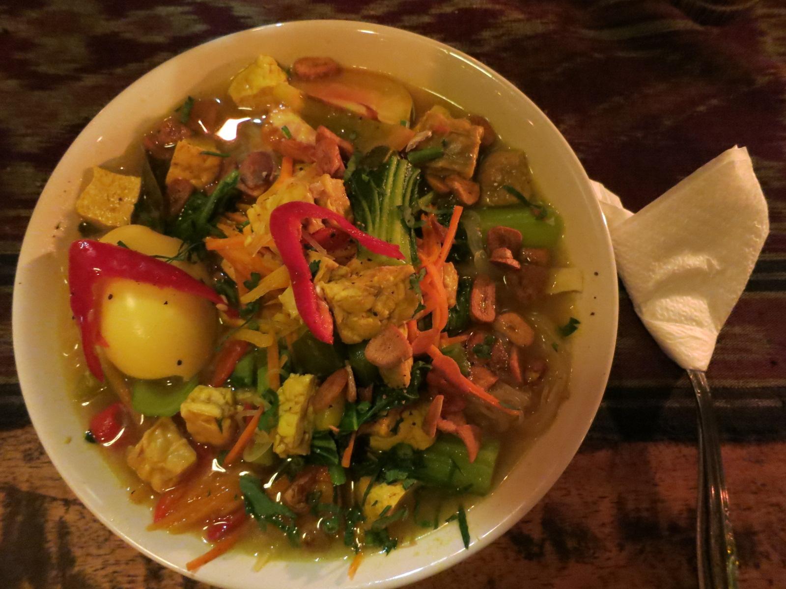 My favorite soup from Bintang Bali