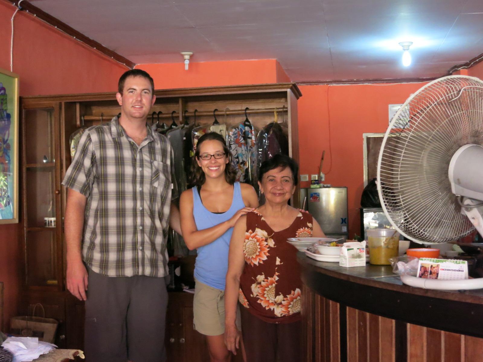 Us with Mrs. Wayuni