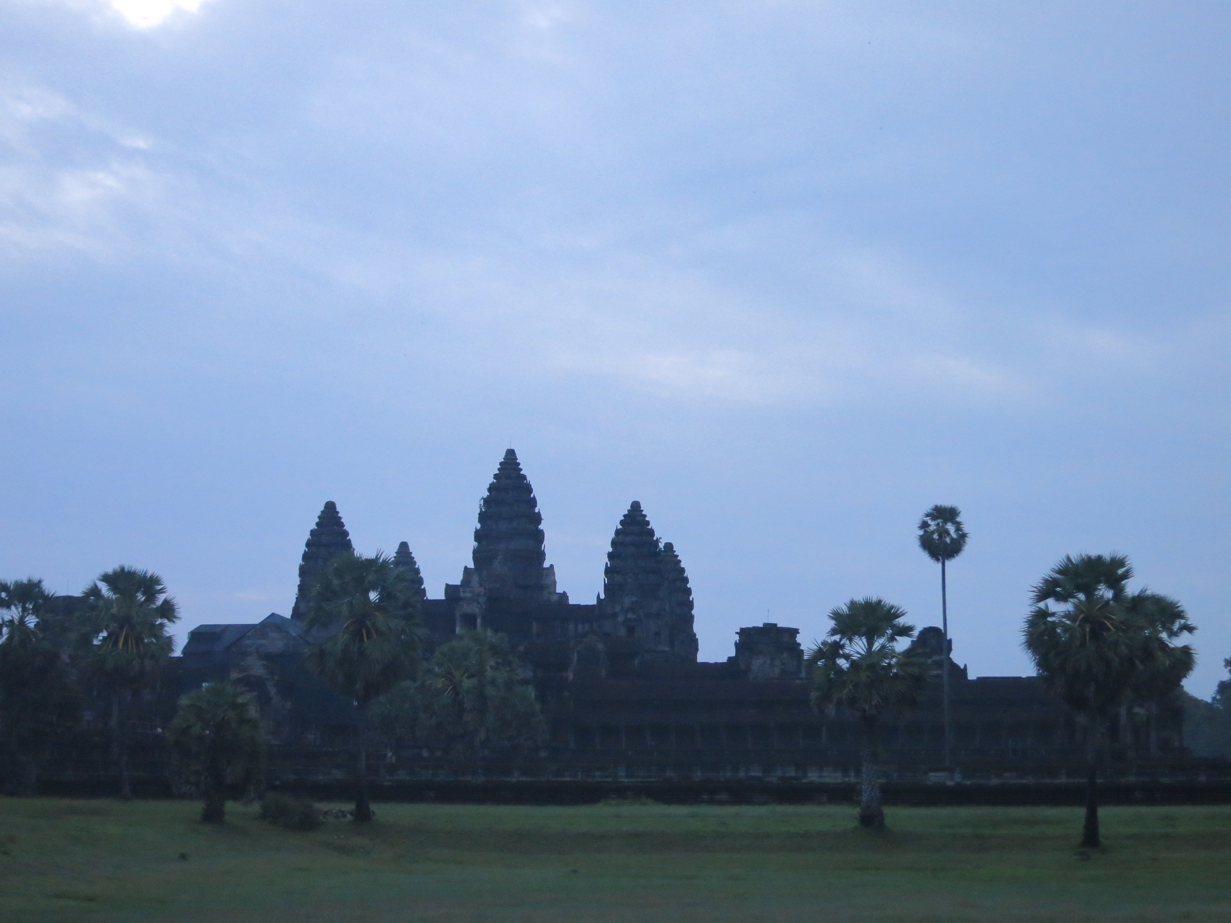 Our sunrise at Angkor