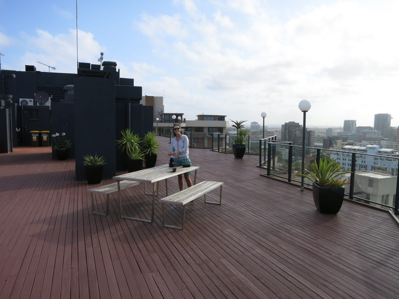 Awesome rooftop deck