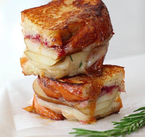 McBride Sisters Grilled Cheese Sandwich
