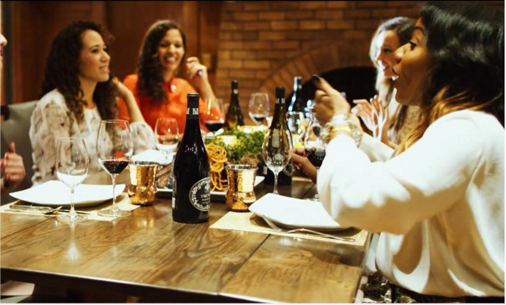 Wine is about connection and celebration.