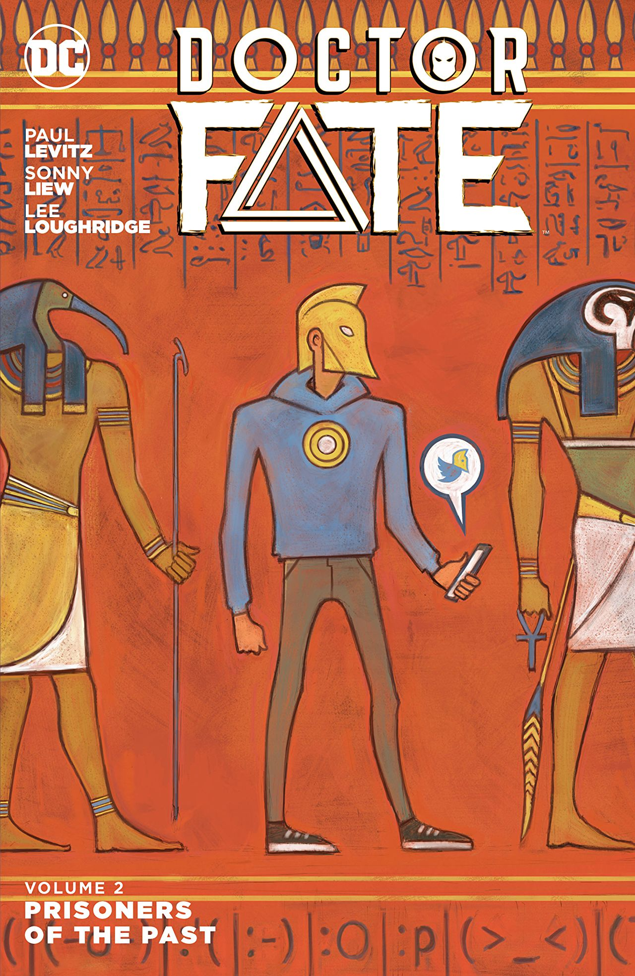 Story:  Paul Levitz  Art : Sonny Liew, Ibrahim Moustafa  Color:  Lee Loughridge  Letters: Saida Temofonte  Cover:  Sonny Liew  Logo:  Dylan Todd