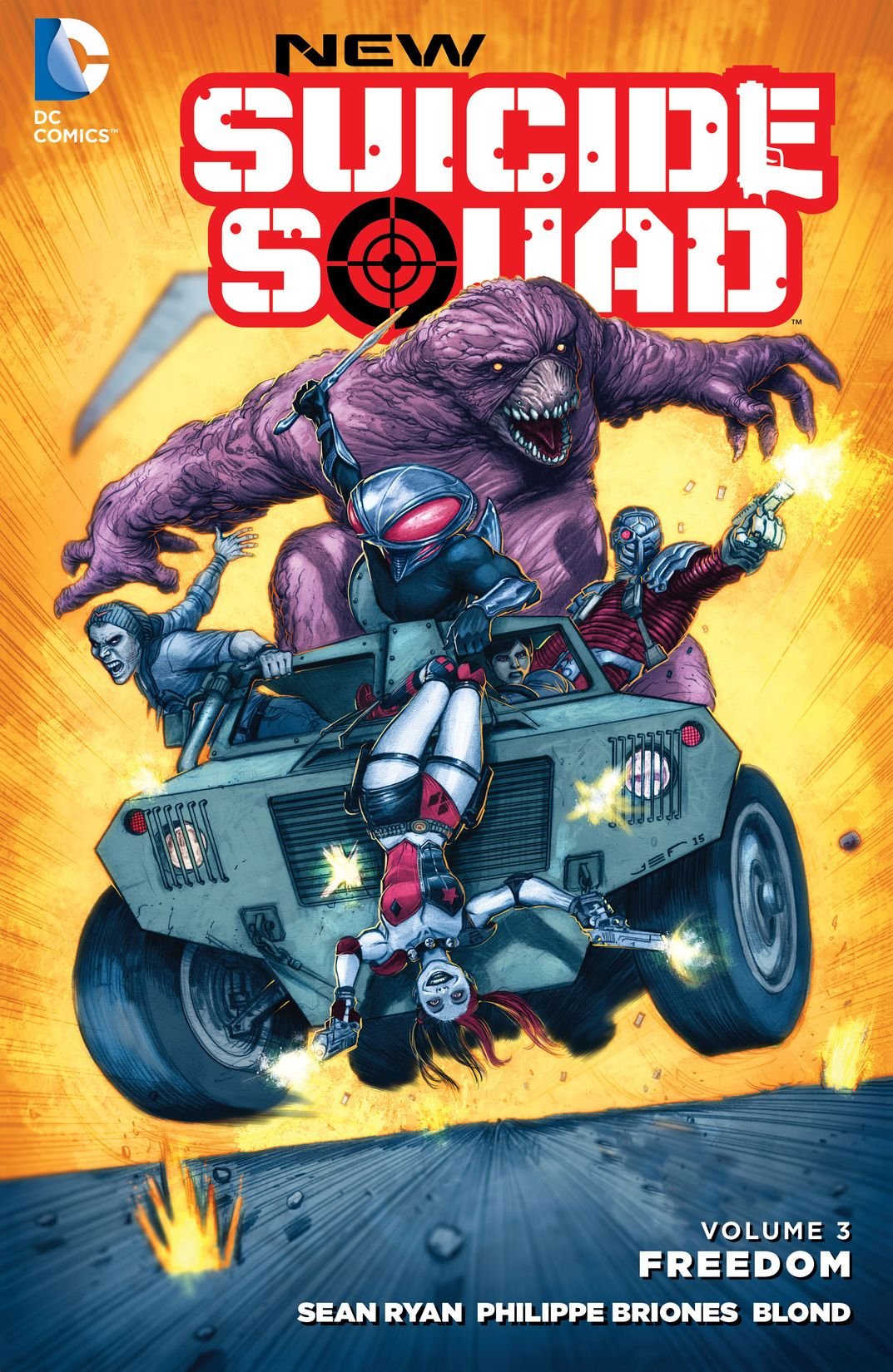 Story: Sean Ryan  Art: Philippe Briones  Color:  Blond  Letters: Dave Sharpe  Cover:  Juan Ferreyra