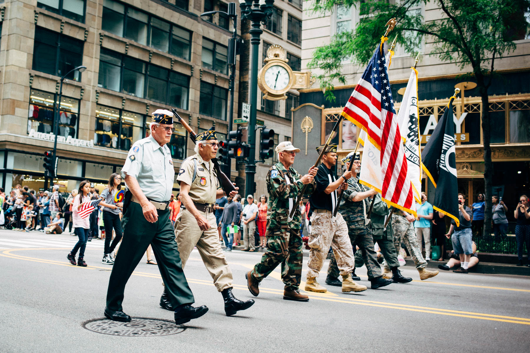 2016 Chicago Memorial Day Parade