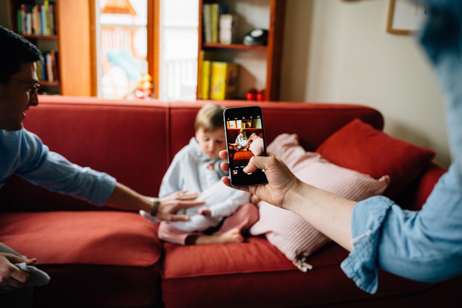 Baby Brother | Oak Park Lifestyle Newborn Photography