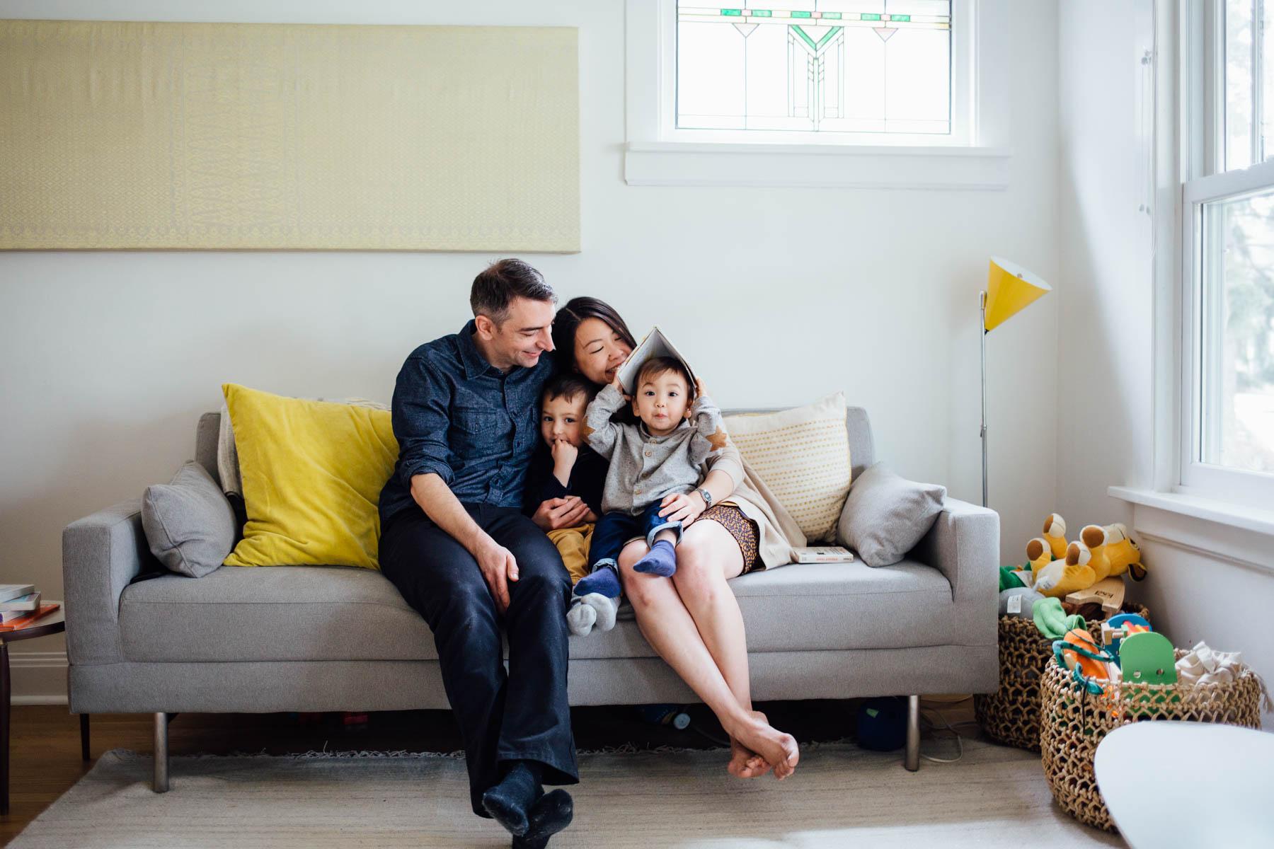 Oak Park Lifestyle Family Session
