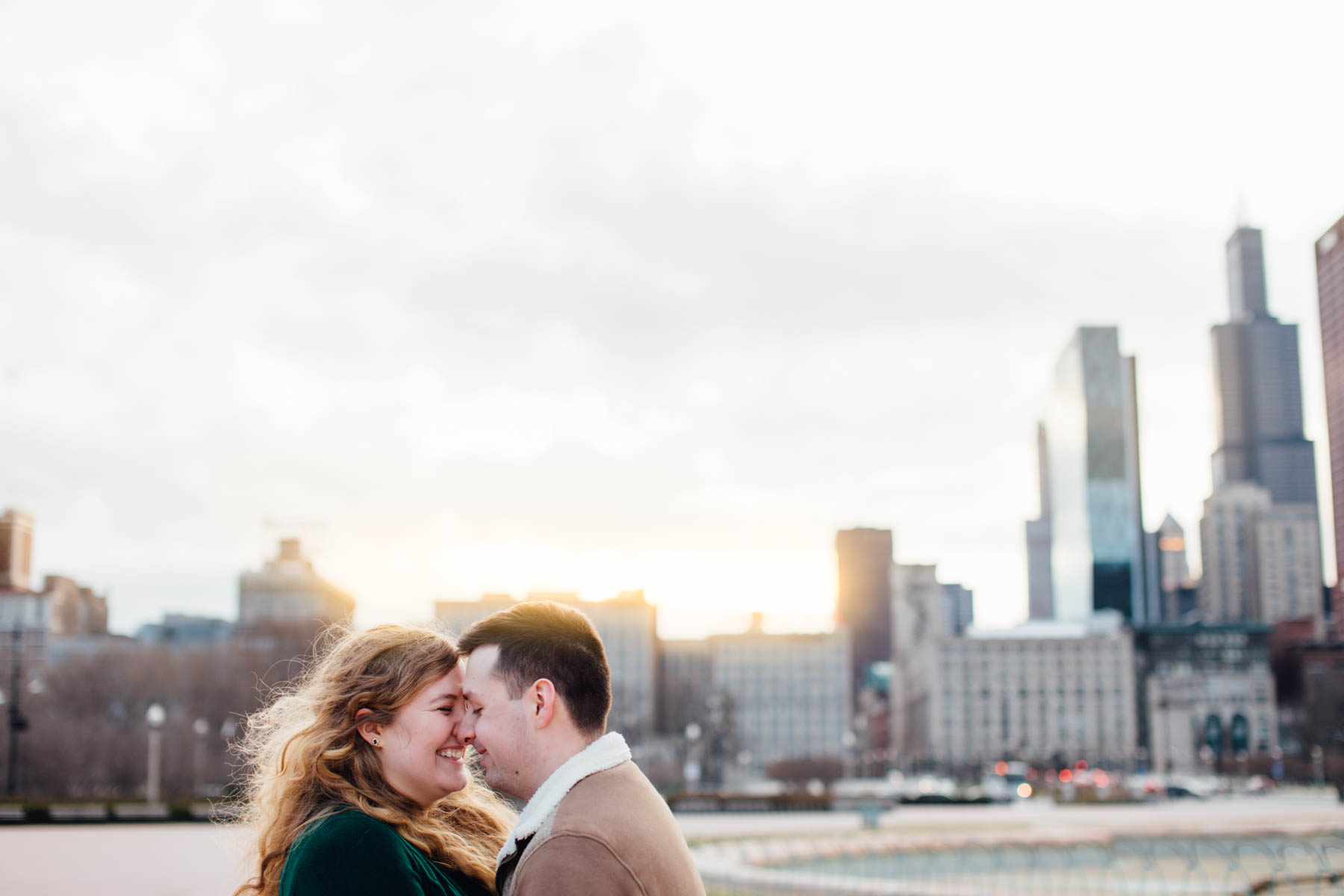 Downtown Chicago Elopement Session | Mandalyn Rael Photography