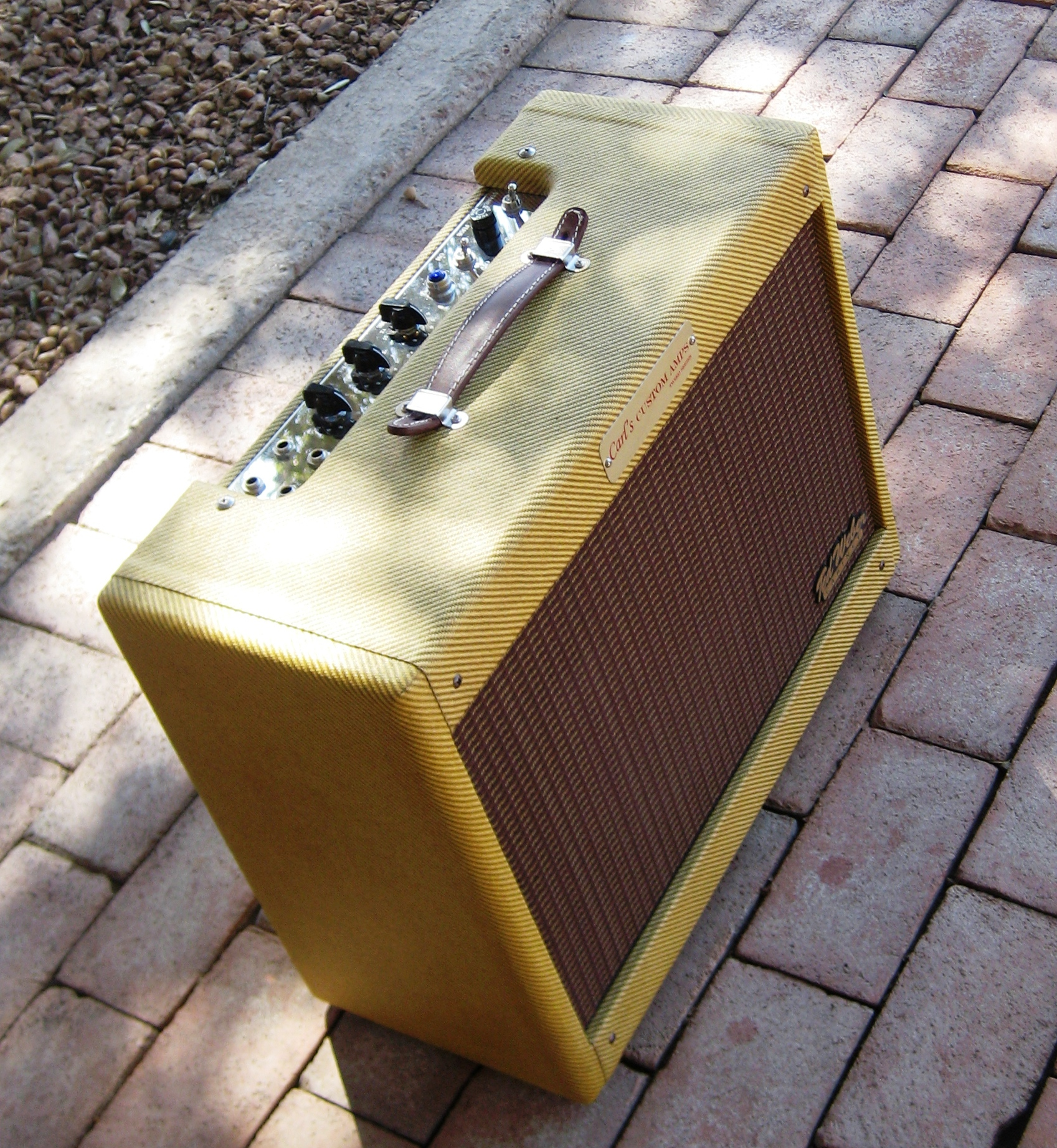 Carl's Custom Amp's : Classic Tweed Deluxe