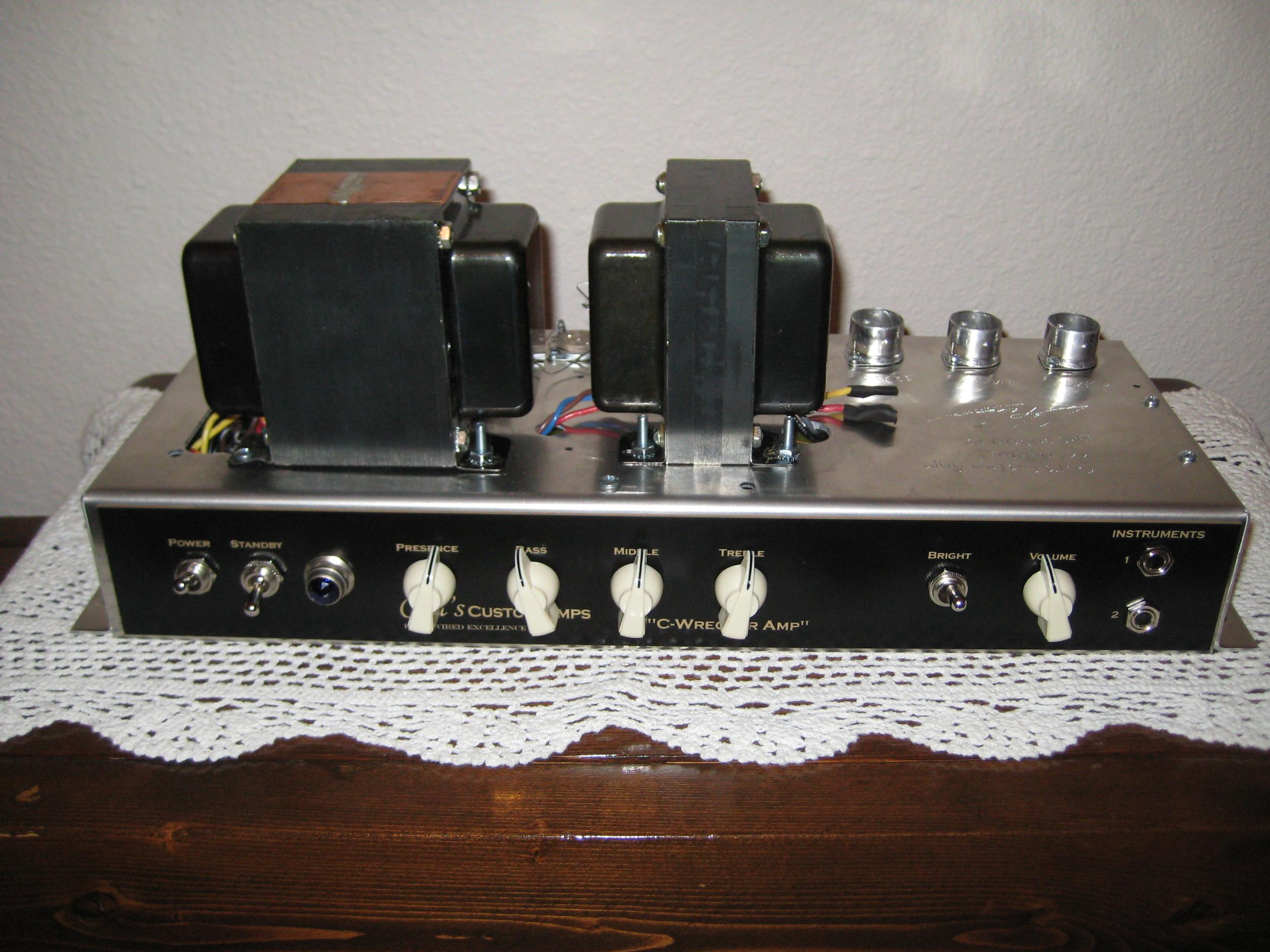 Trainwreck Liverpool style amp! 30 watt of twang and crunch!