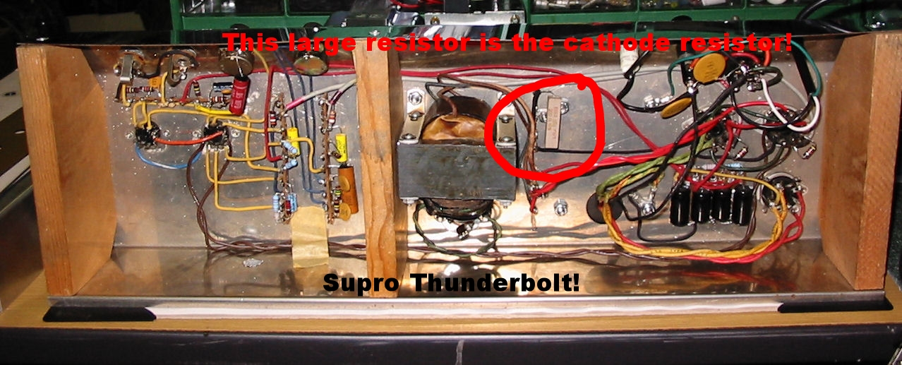 Cathode vs  Fixed Bias — Carl's Custom Amps