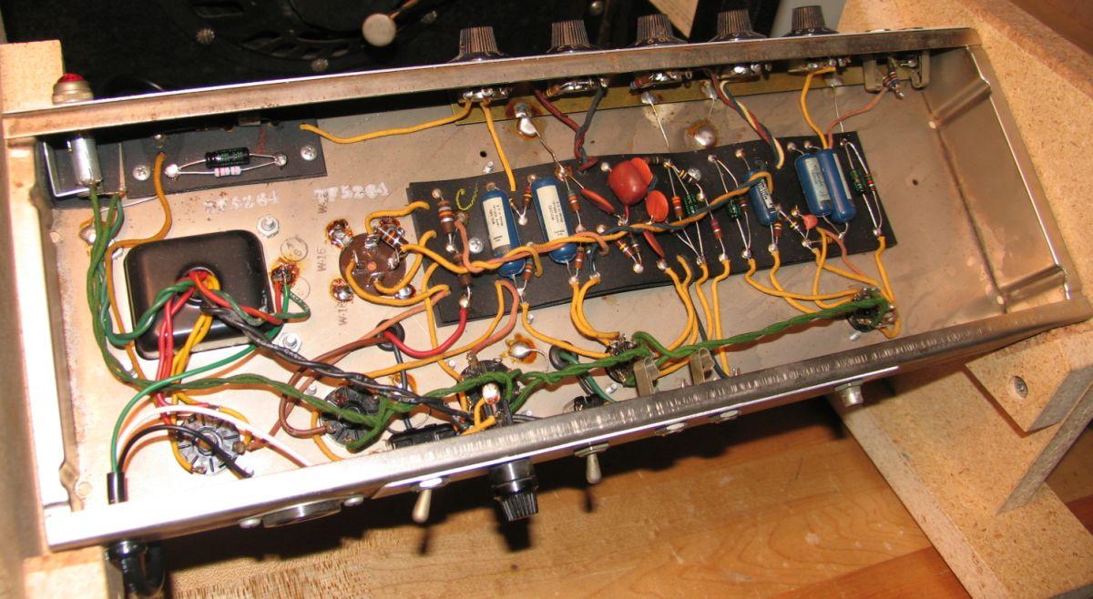 Hand wired Vintage Fender Princeton Reverb